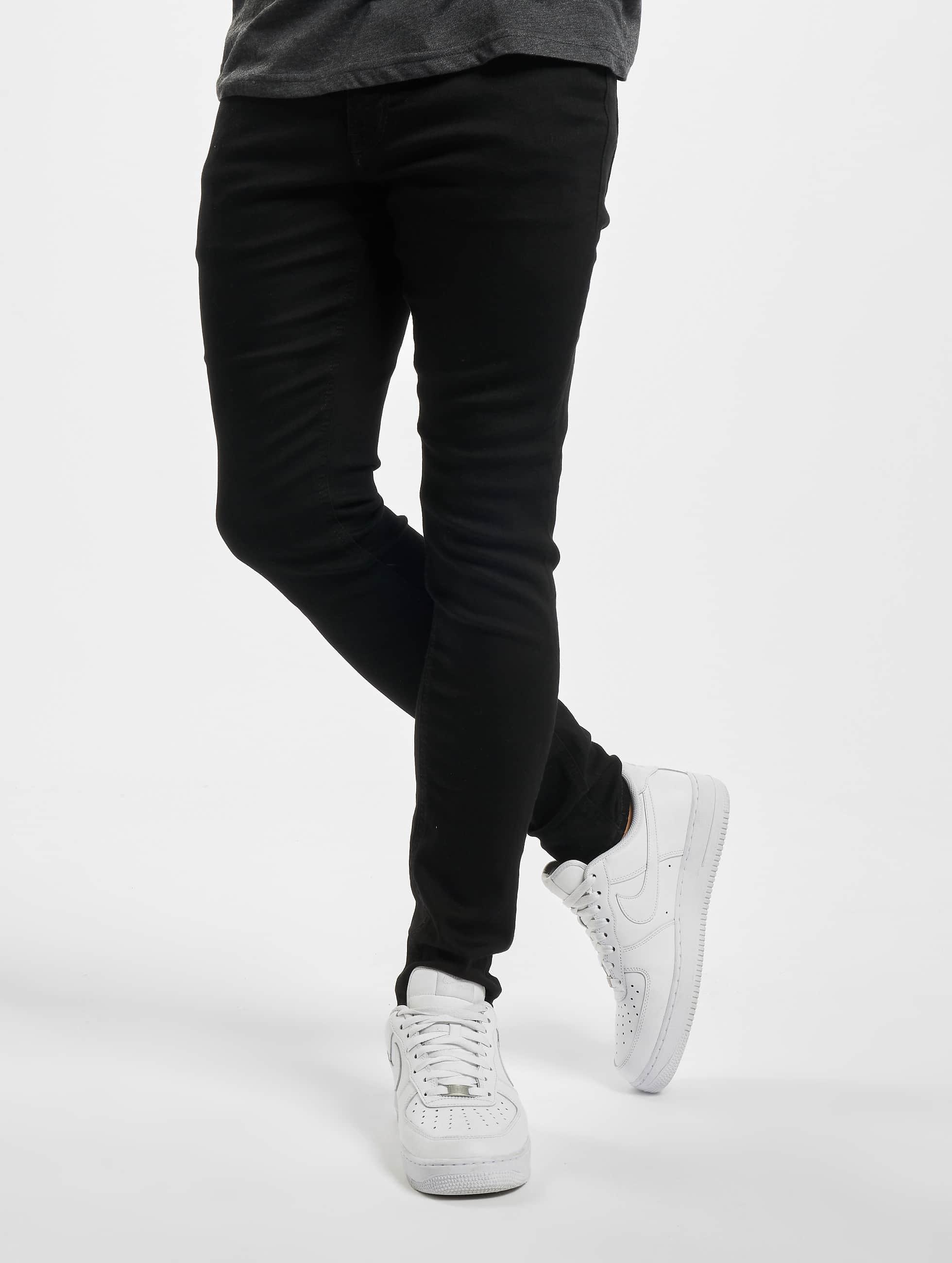 Jack & Jones Облегающие джинсы jjiLiam jjOriginal черный