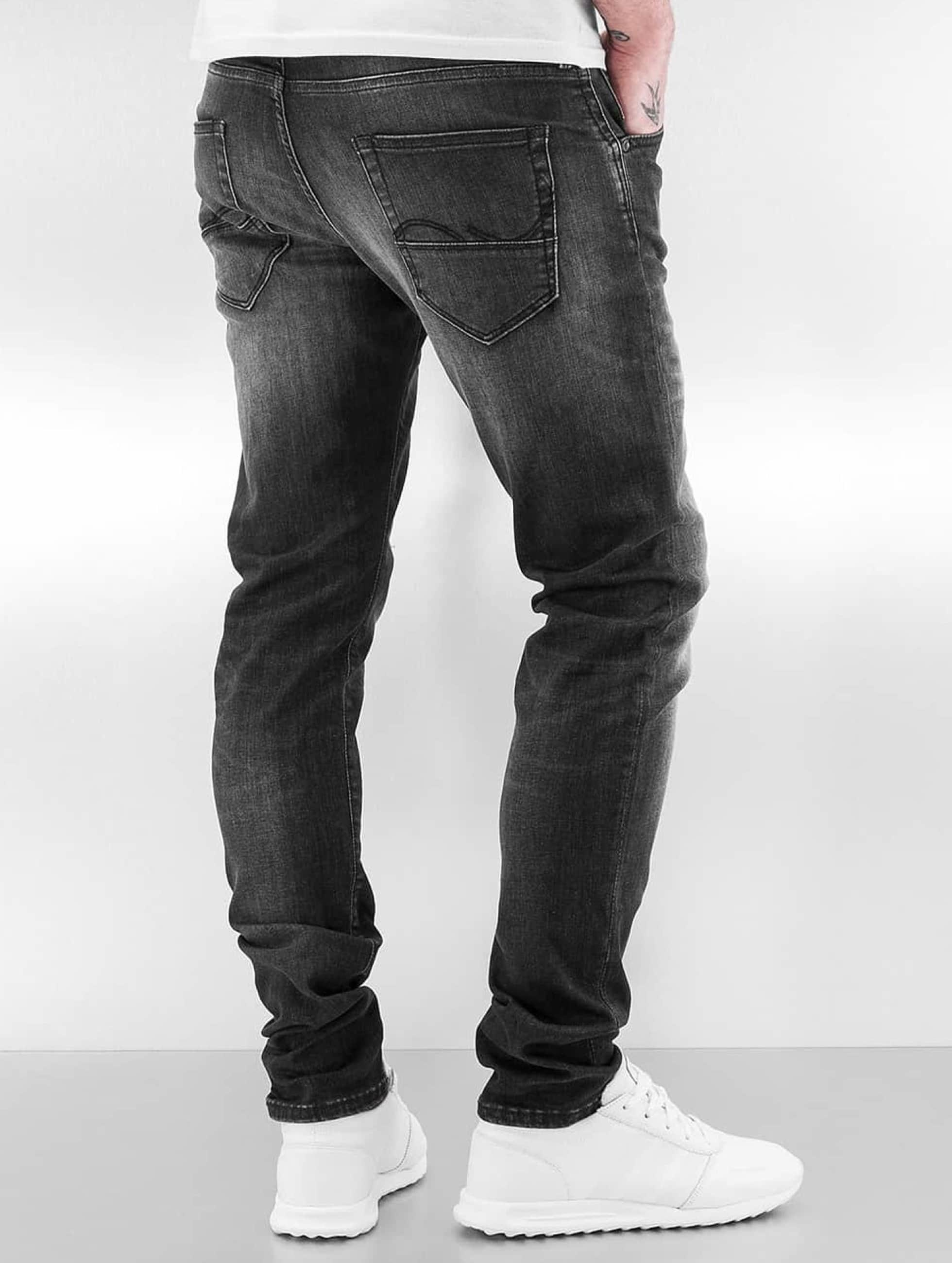 Jack & Jones Облегающие джинсы jjIglenn jjFox черный