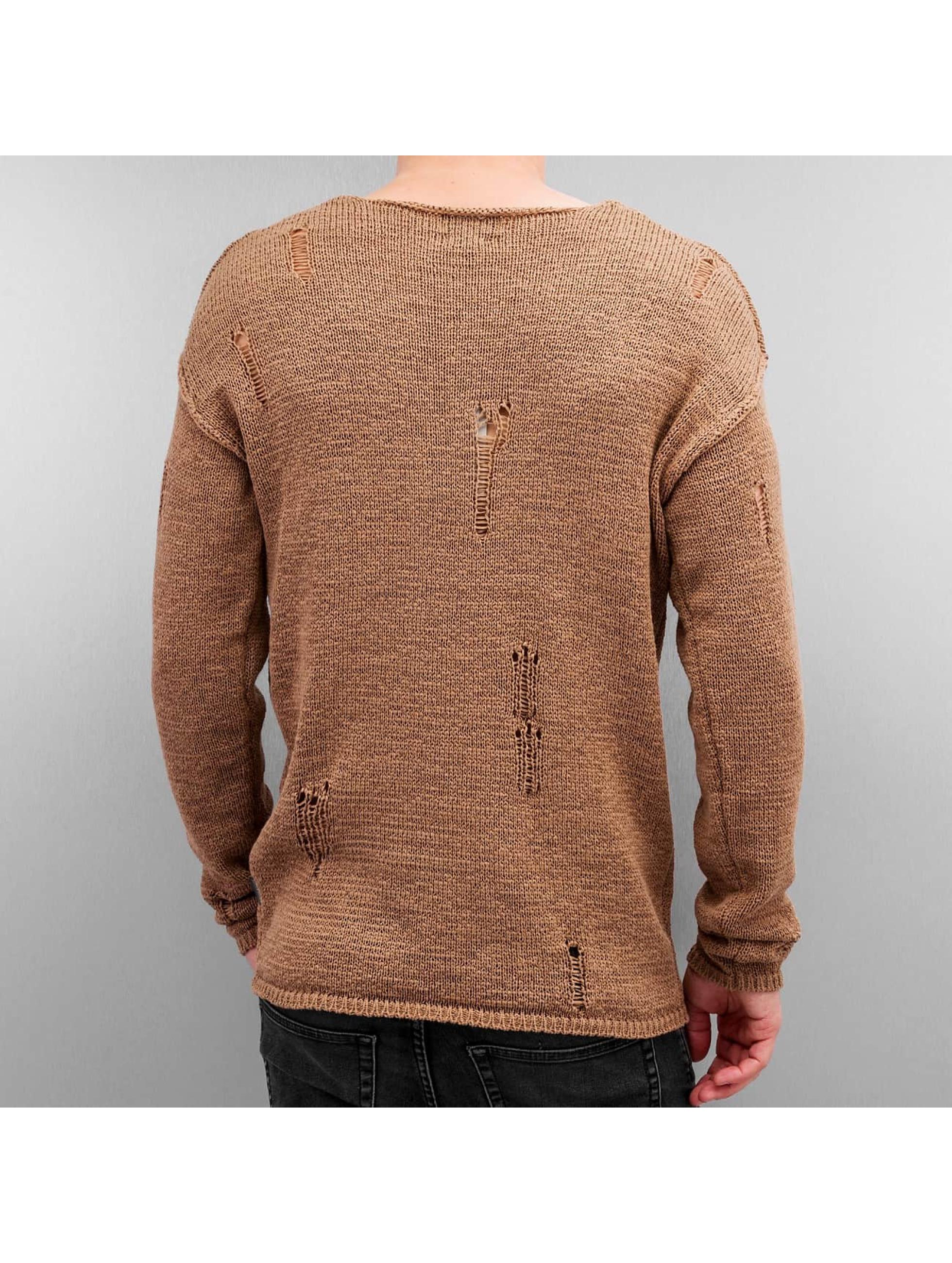 Jack & Jones Пуловер 12115685 бежевый