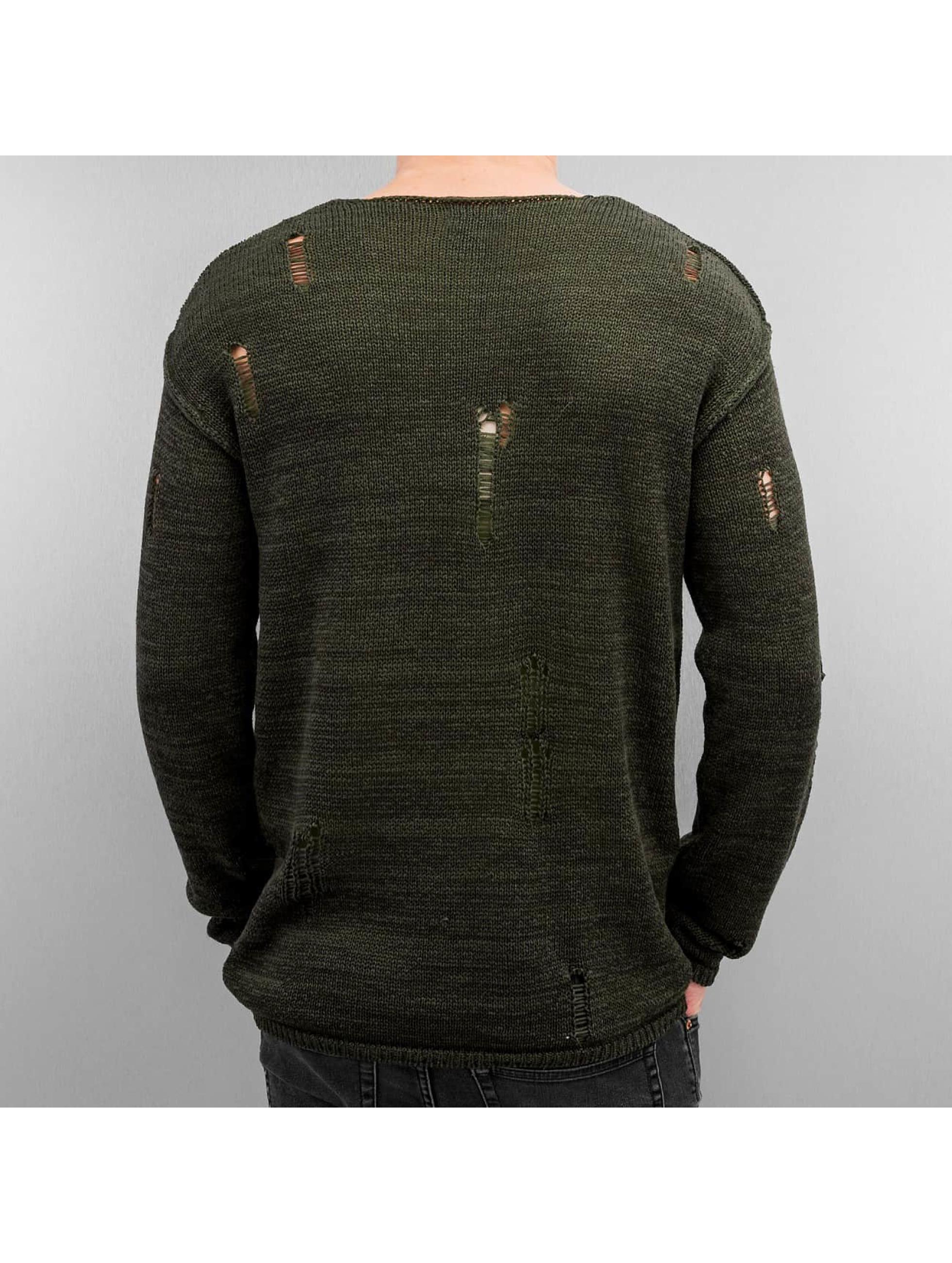 Jack & Jones Пуловер jorEdwin оливковый
