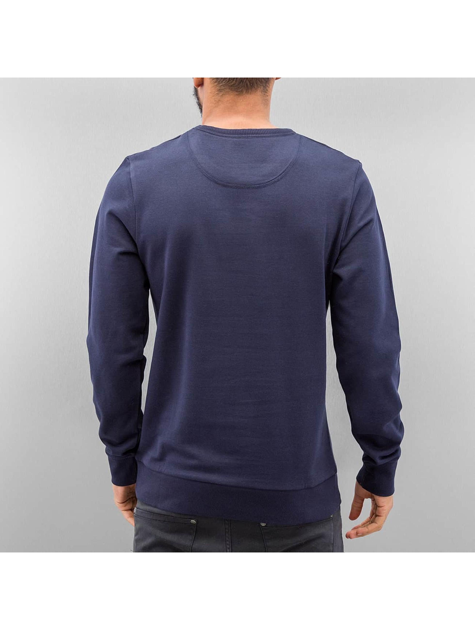 Jack & Jones Пуловер jjScribble синий