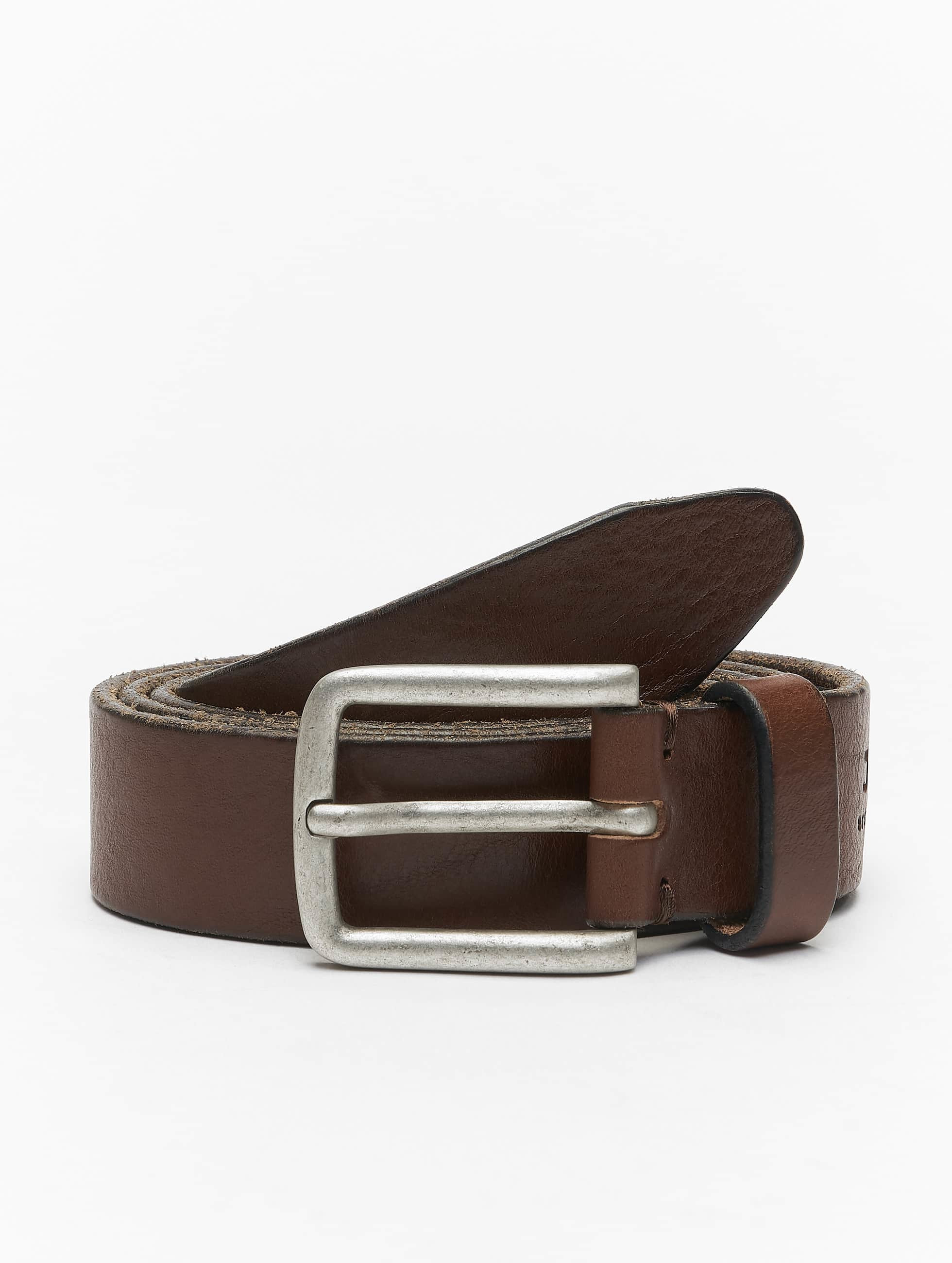 Jack & Jones Ремень jjiLee Leather коричневый