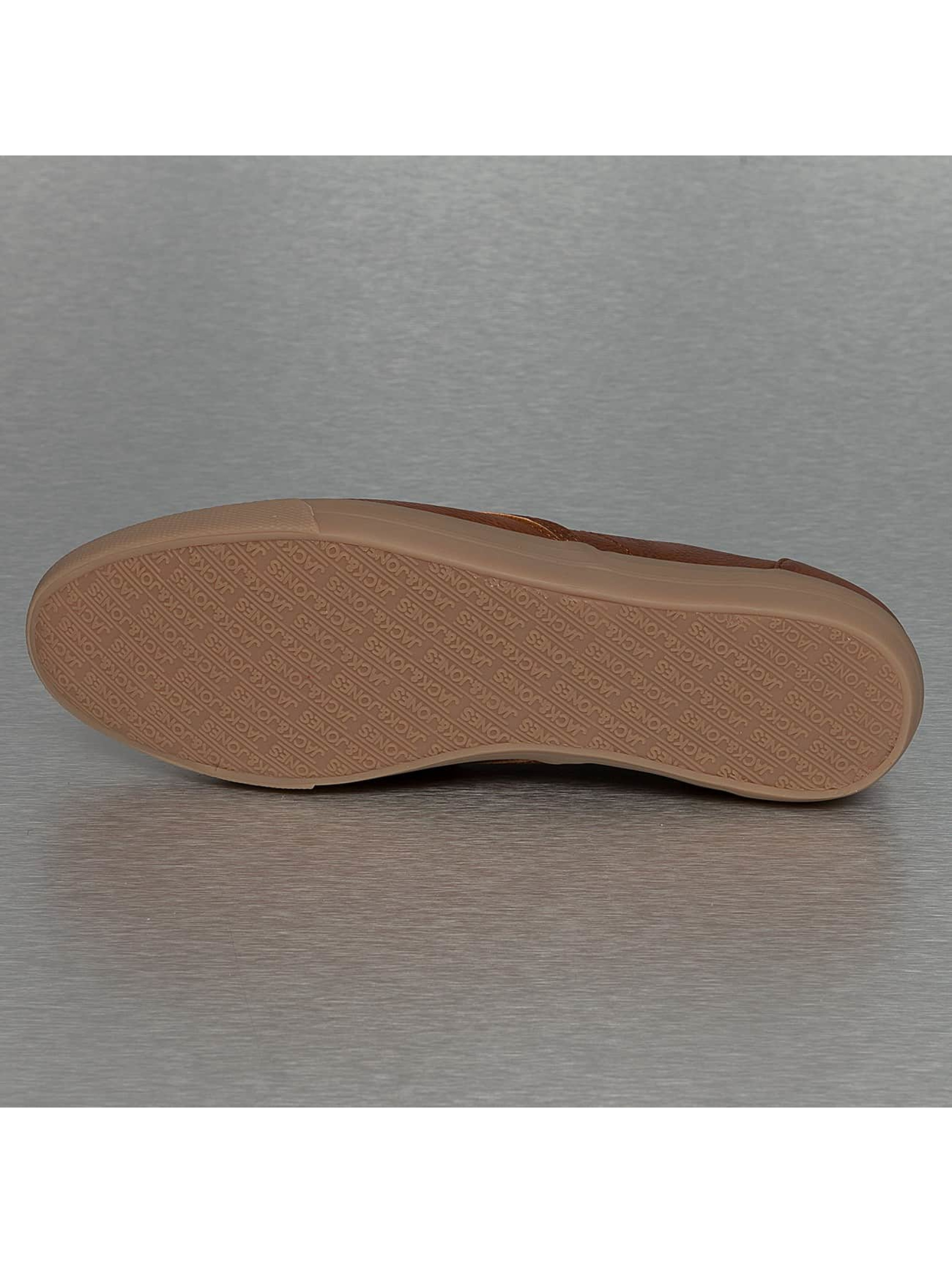 Jack & Jones Сникеры jfwSpider PU коричневый