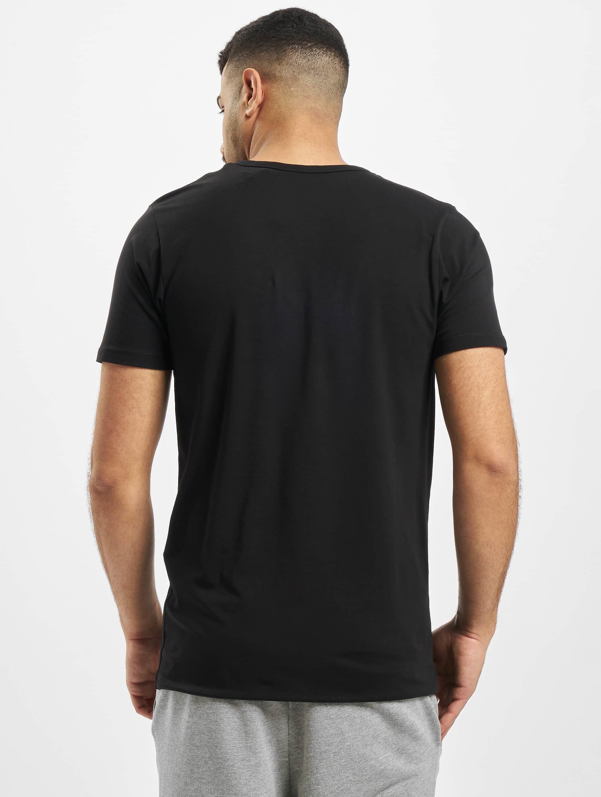 Jack & Jones Футболка Core Basic V-Neck черный