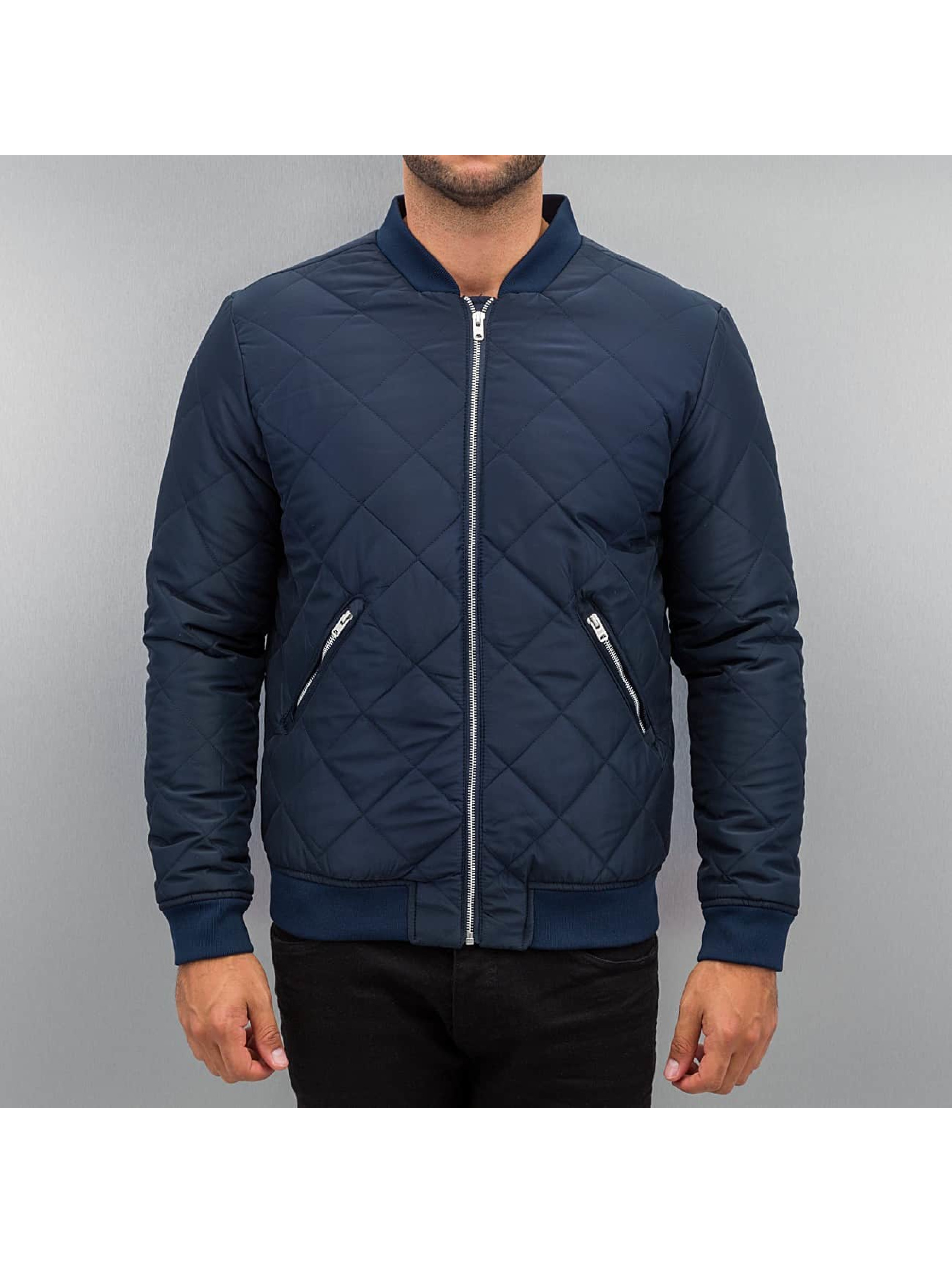 Jack & Jones Bomber jacket jcoDiamond Bomber blue