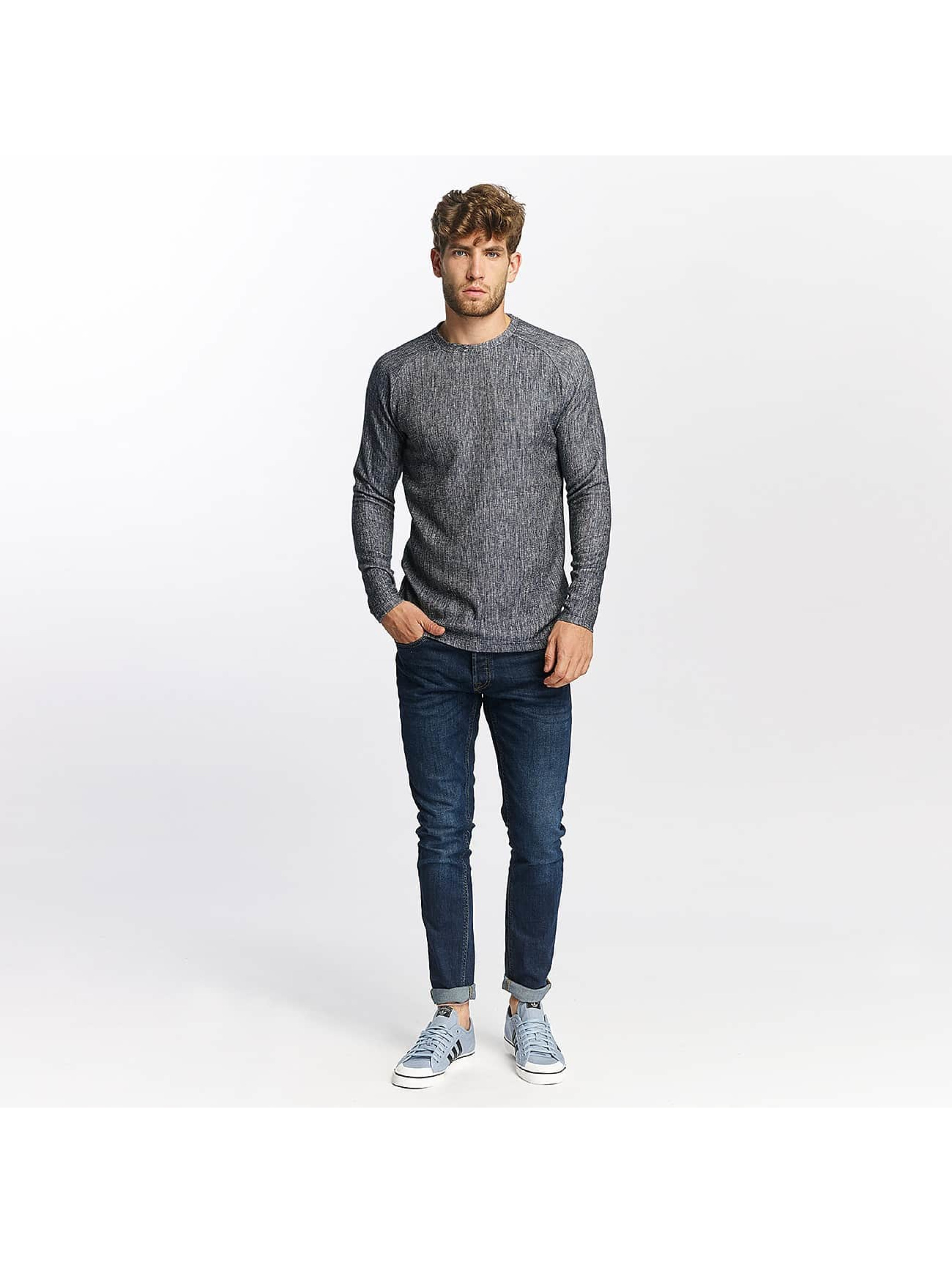 Jack & Jones Camiseta de manga larga jprCashed azul