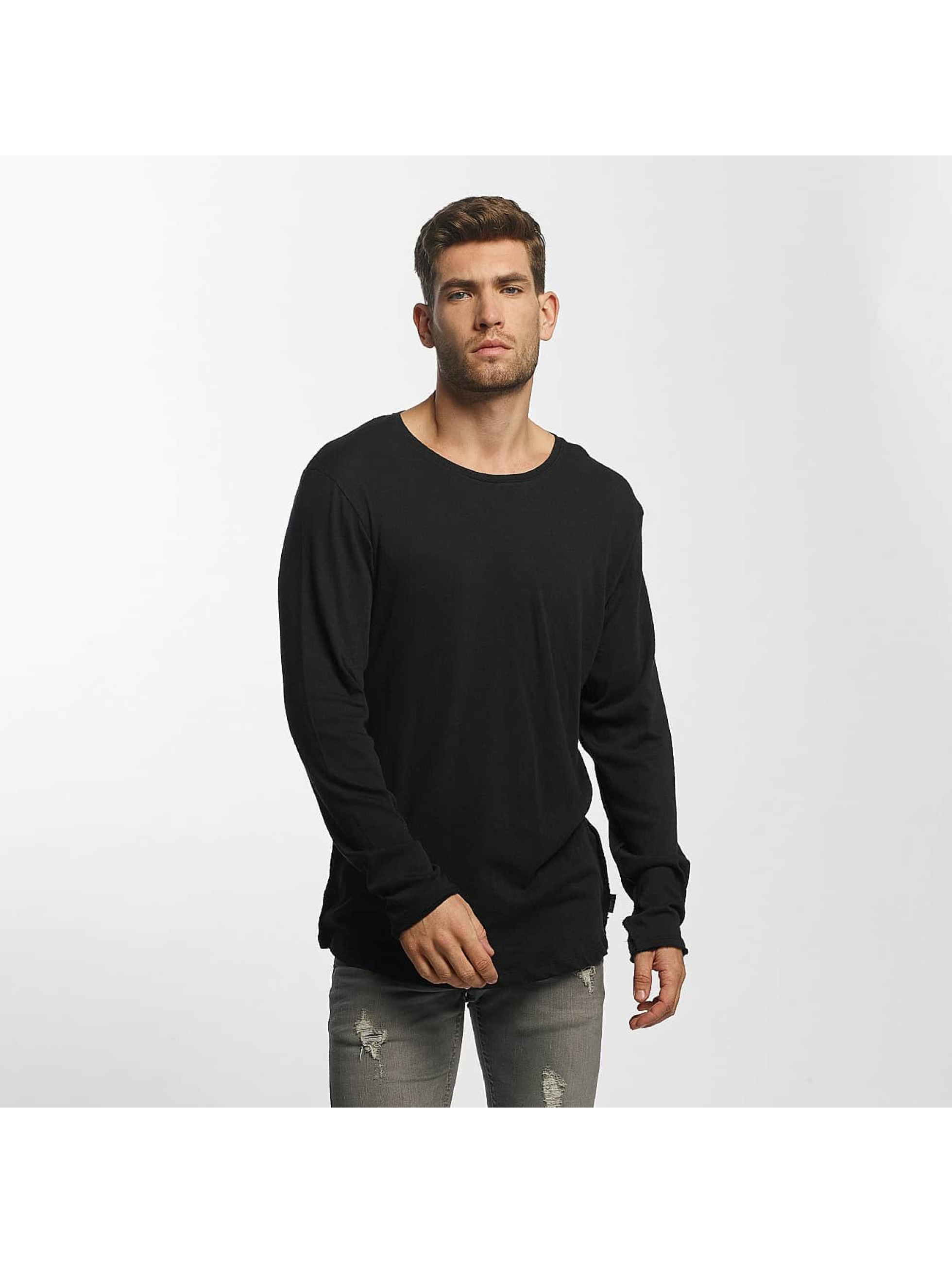 Jack & Jones Camiseta de manga larga JORLoose gris