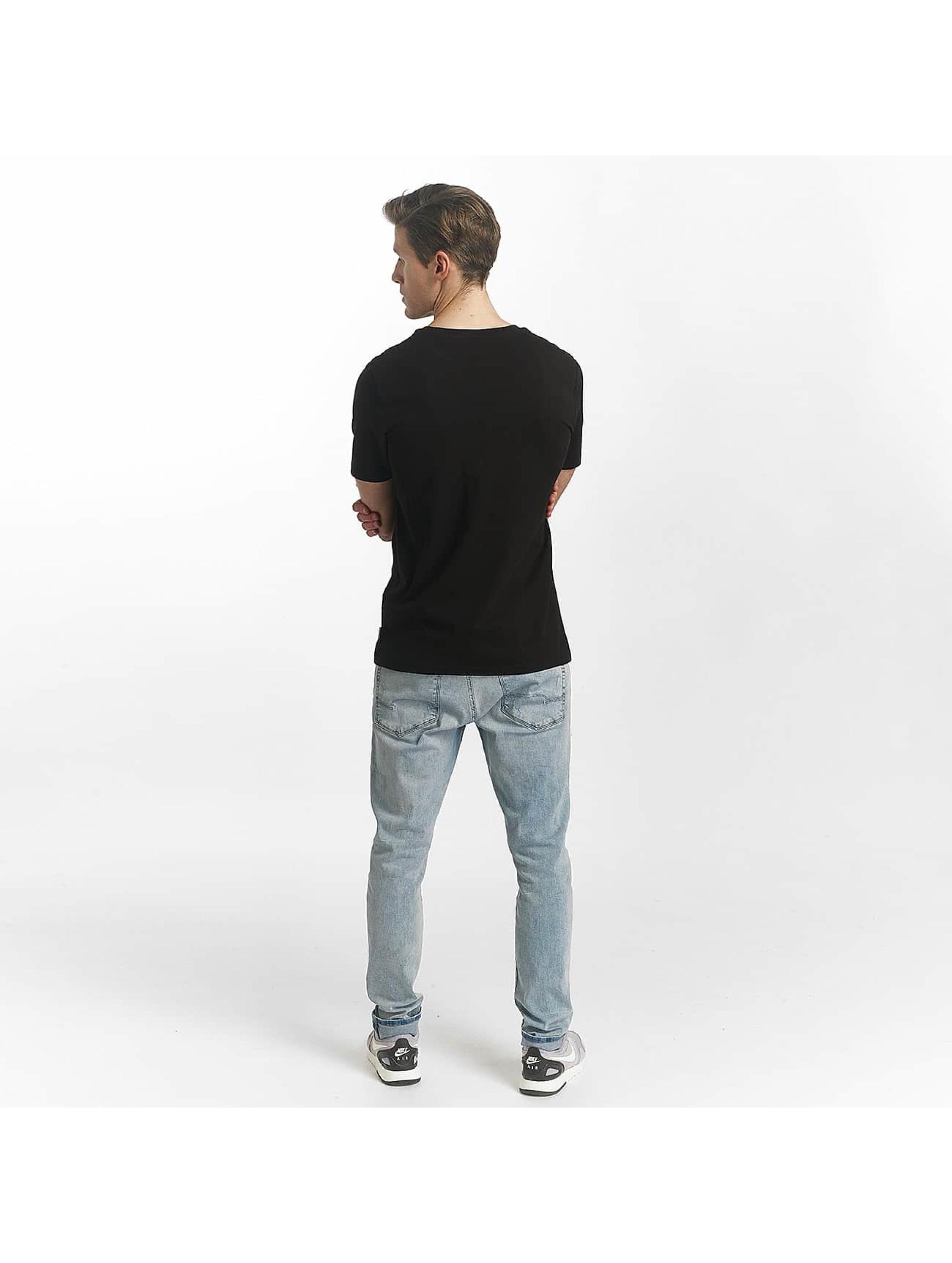 Jack & Jones Camiseta jcoLine negro