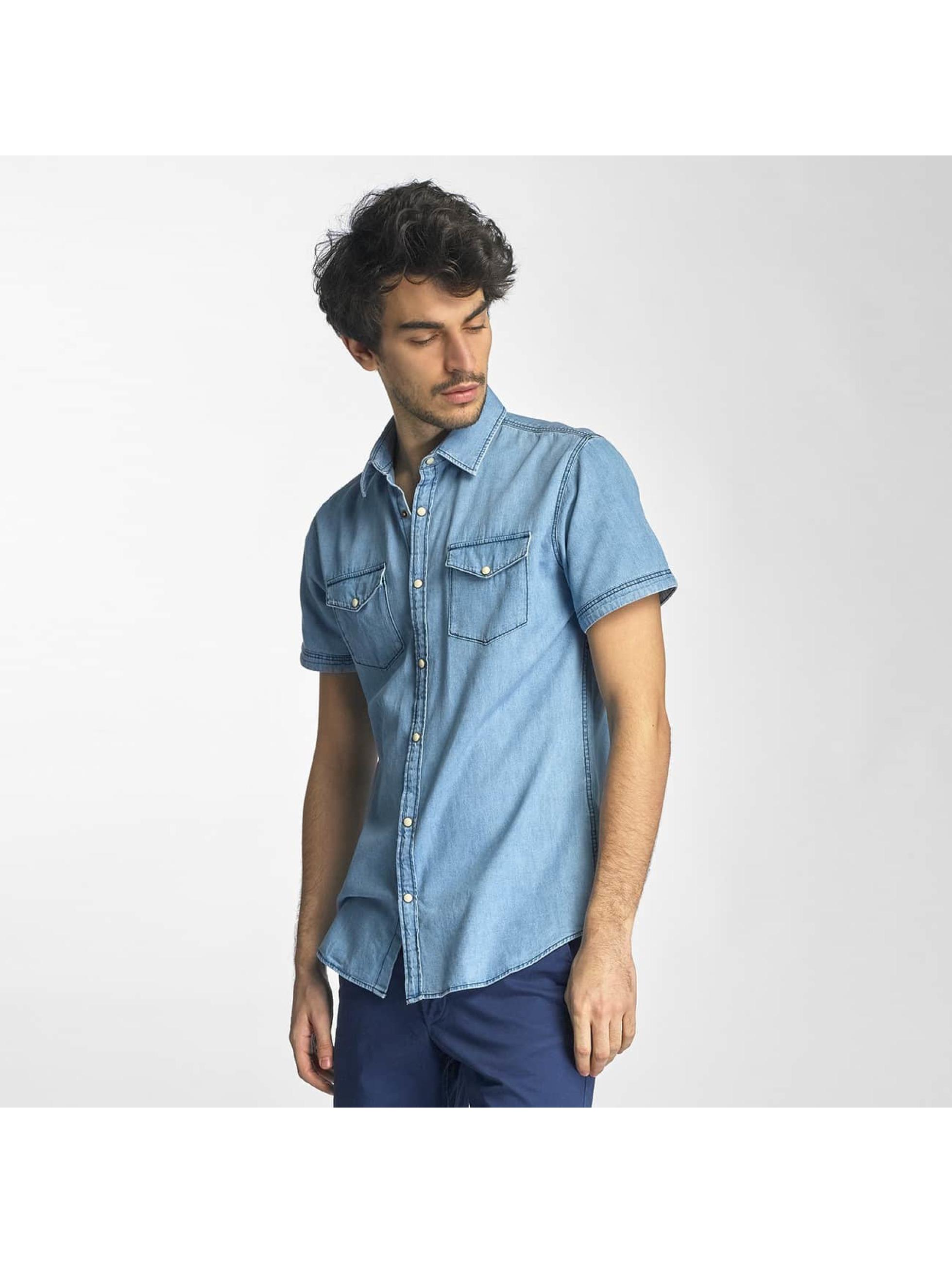 jack jones herren hemd jorone in blau 307290
