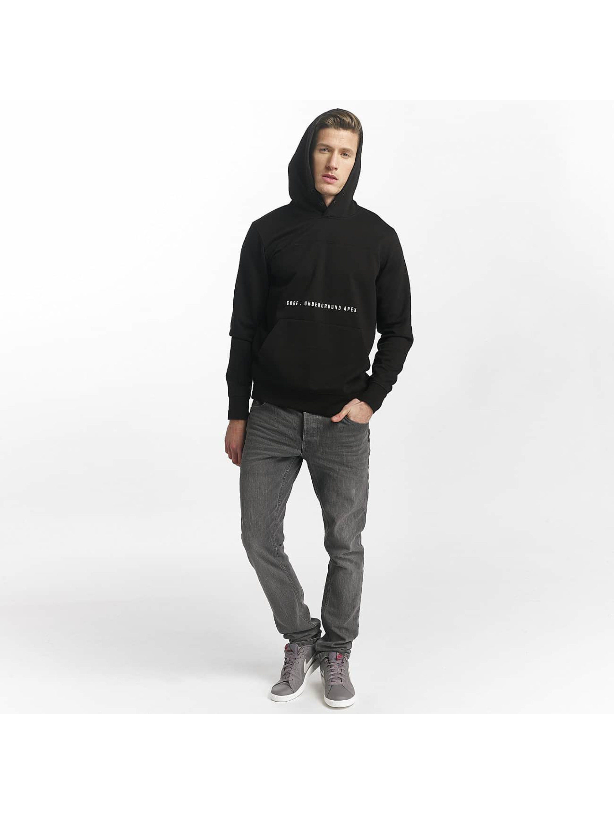 Jack & Jones Hoodie jcoMack black