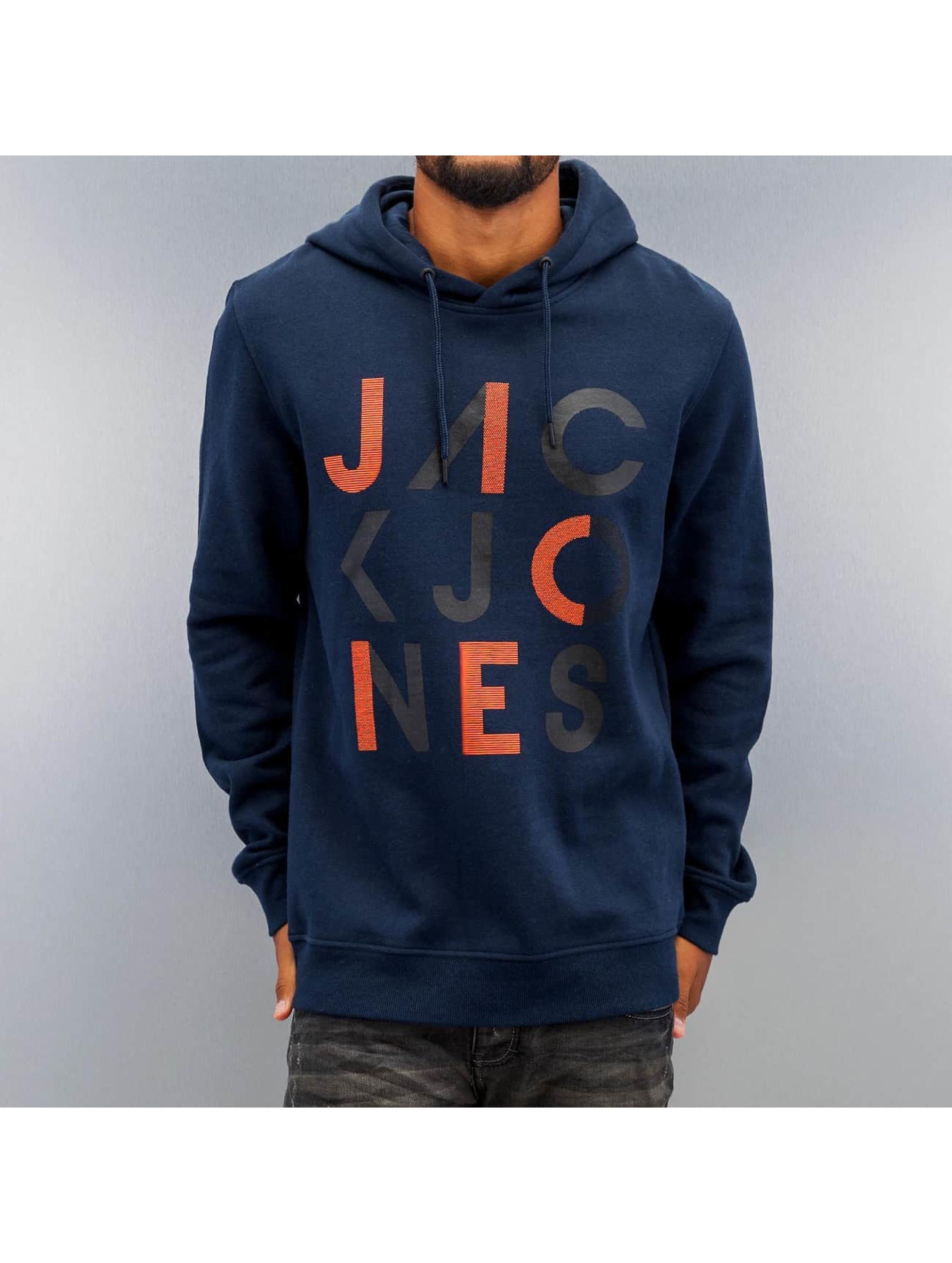 Jack & Jones Hoody jcoEdwin Sweat blauw