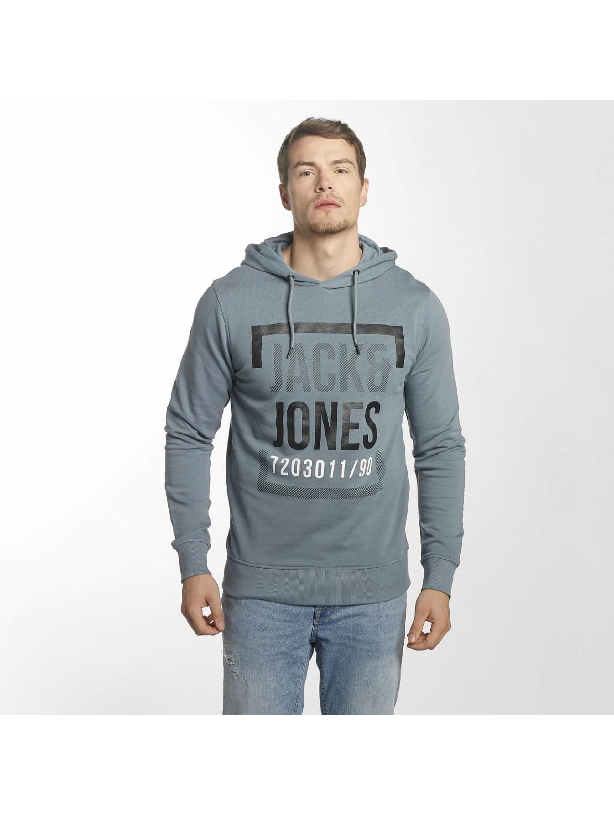 Jack & Jones Hoody jcoLine blauw