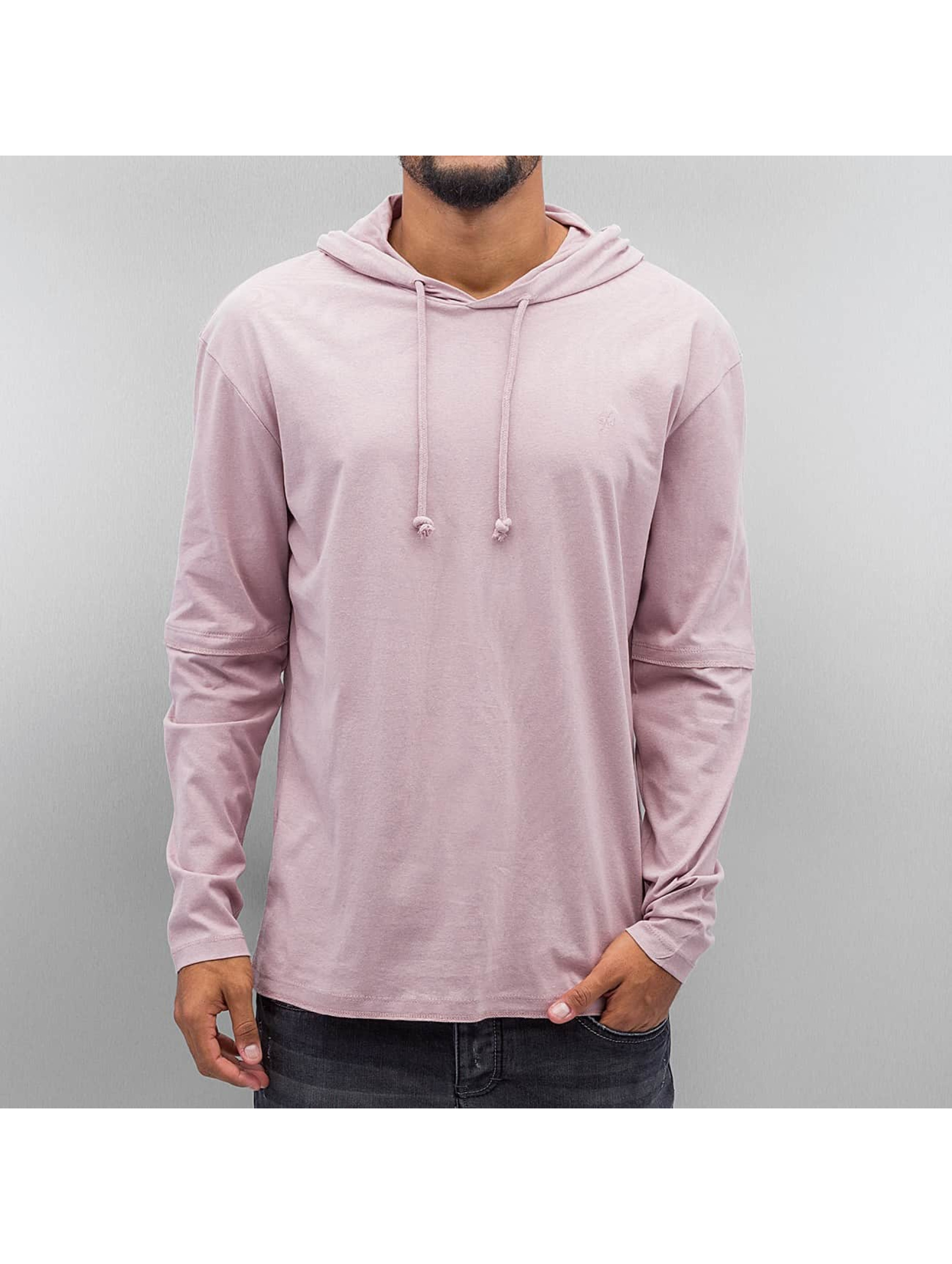 Jack & Jones Oberteil / Hoody jorDean in rosa