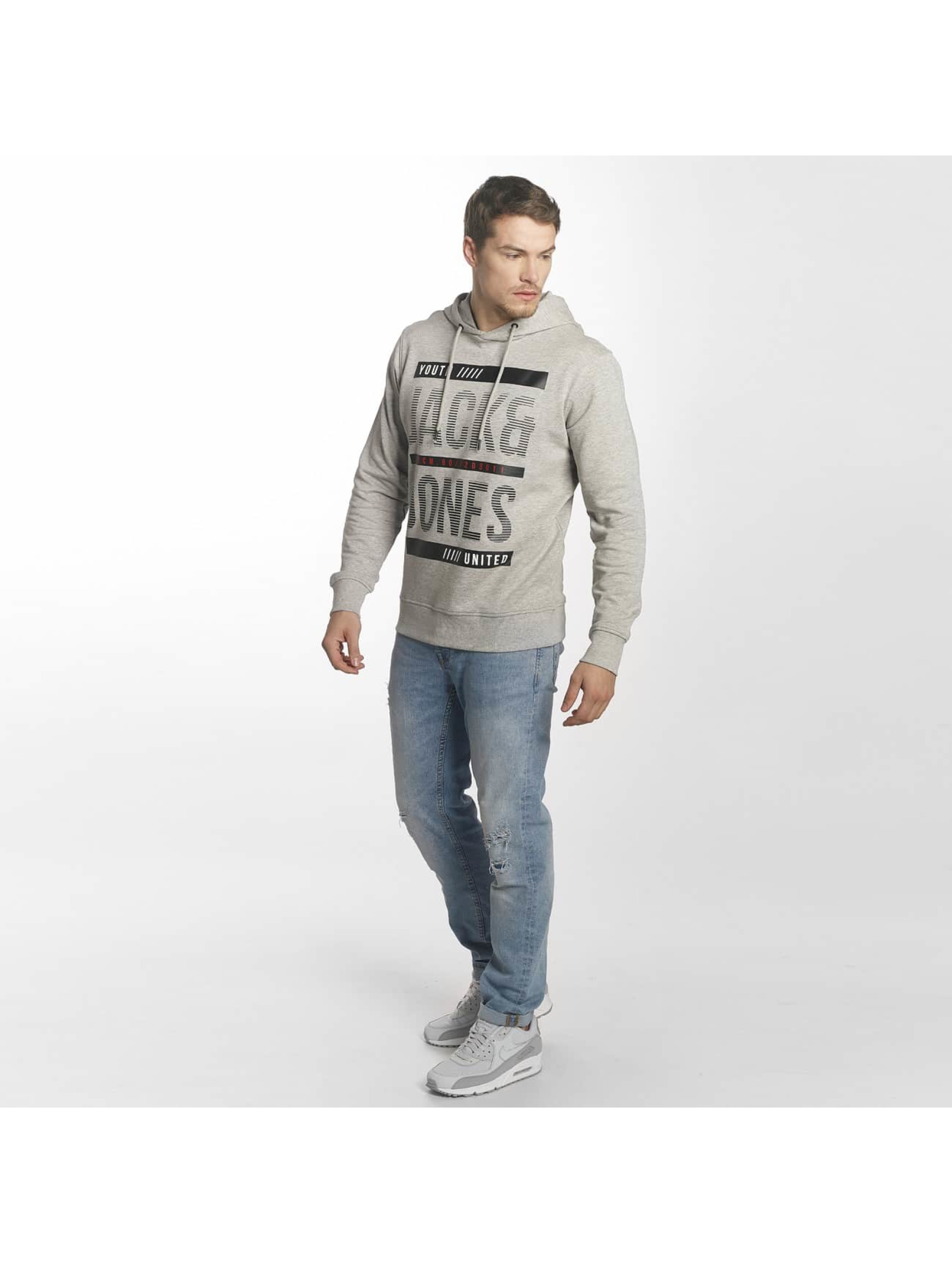 Jack & Jones Hupparit jcoLine harmaa