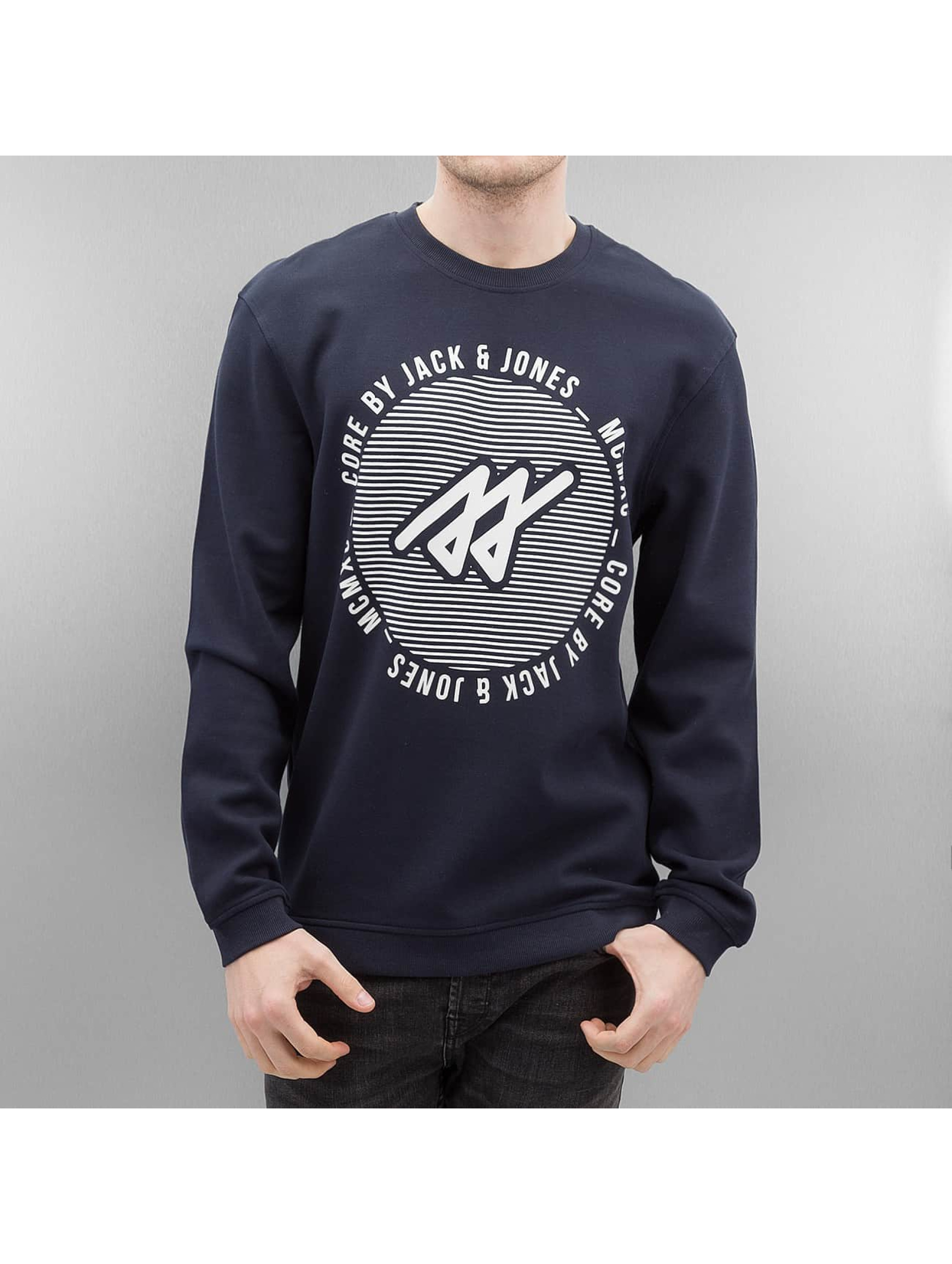 Jack & Jones Jumper jcoPique blue