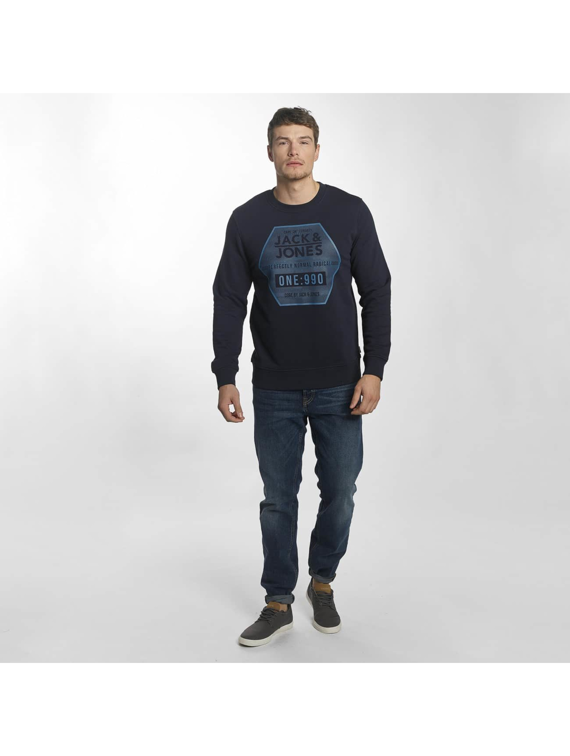 Jack & Jones Jumper jcoGeometric blue