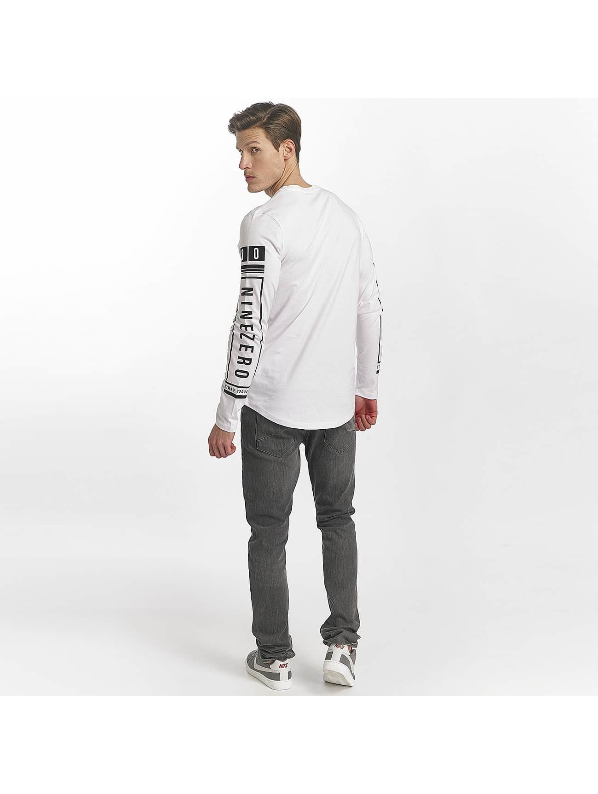 Jack & Jones Longsleeves jcoLoose bialy