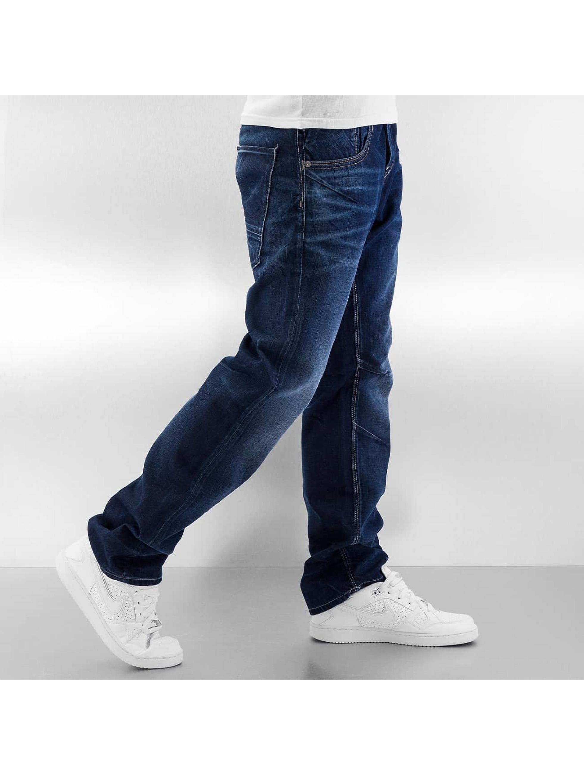 Jack & Jones Loose Fit Jeans jiBoxy jjLeed blau