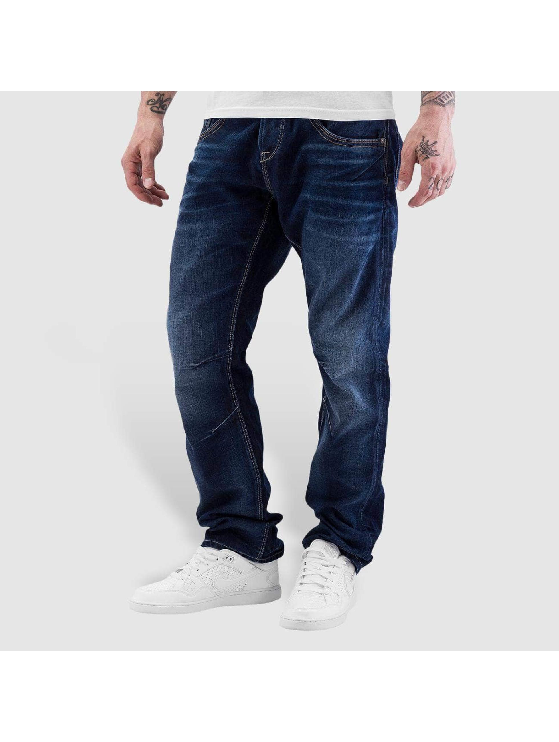 Jack & Jones Loose fit jeans jiBoxy jjLeed blauw
