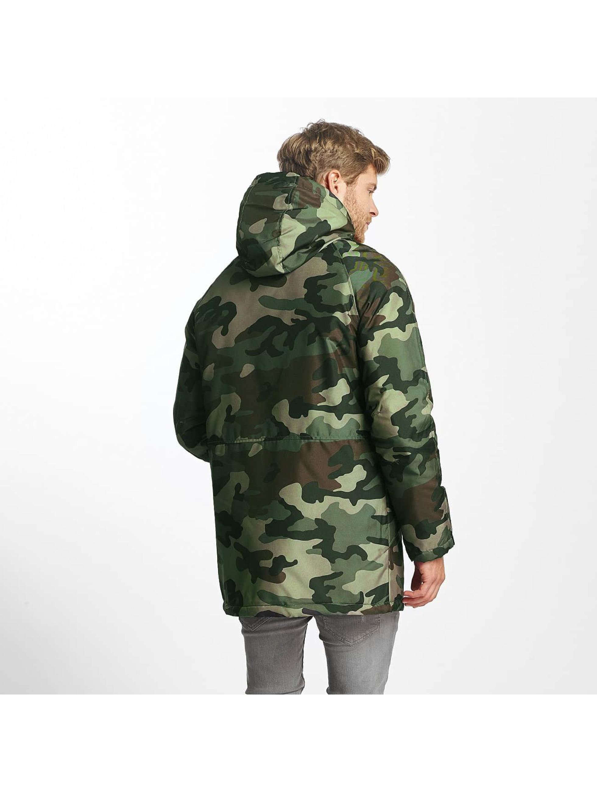 jack jones jormilitary camouflage homme manteau hiver 342216. Black Bedroom Furniture Sets. Home Design Ideas