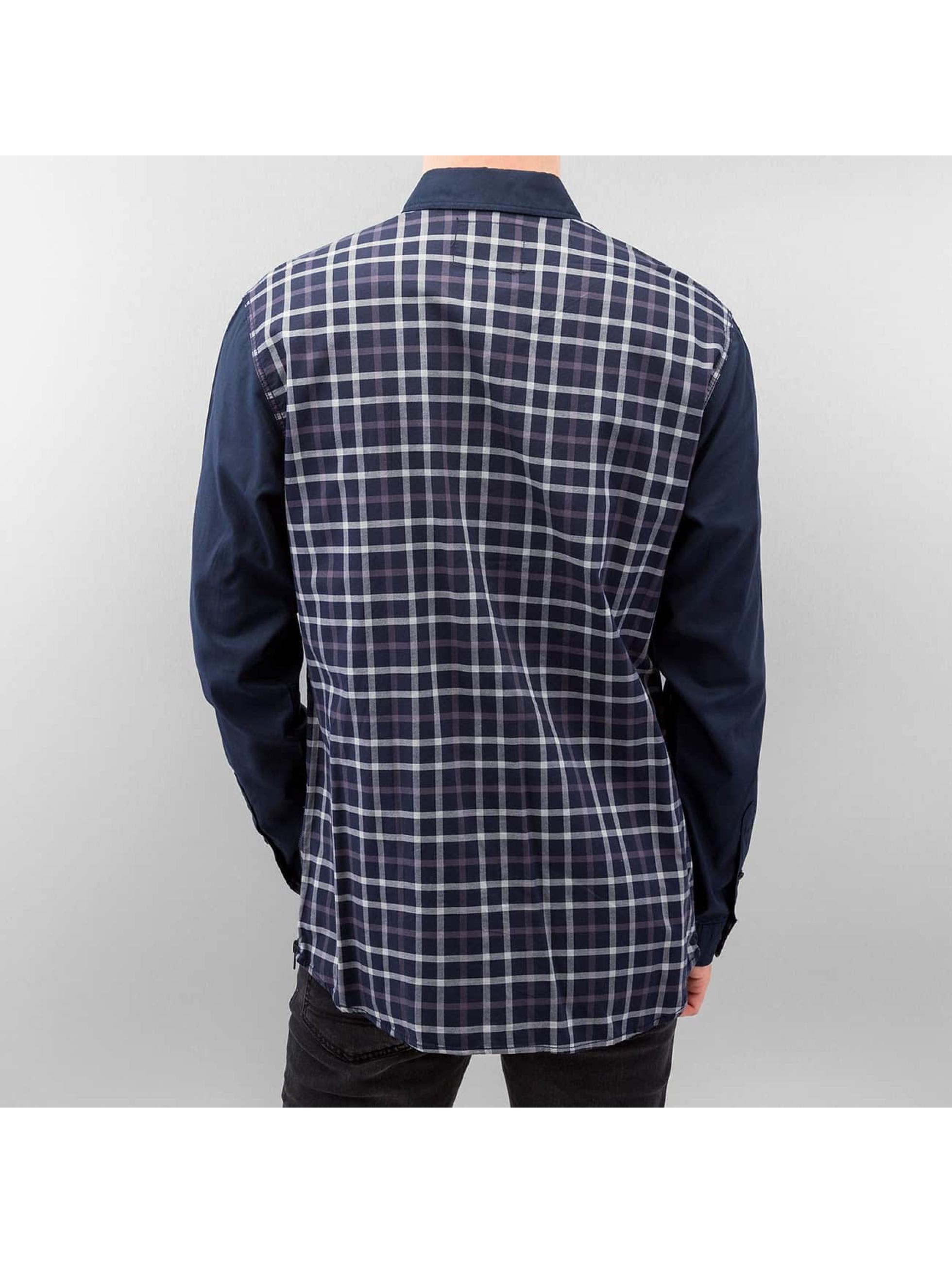 Jack & Jones overhemd Victor Plain blauw