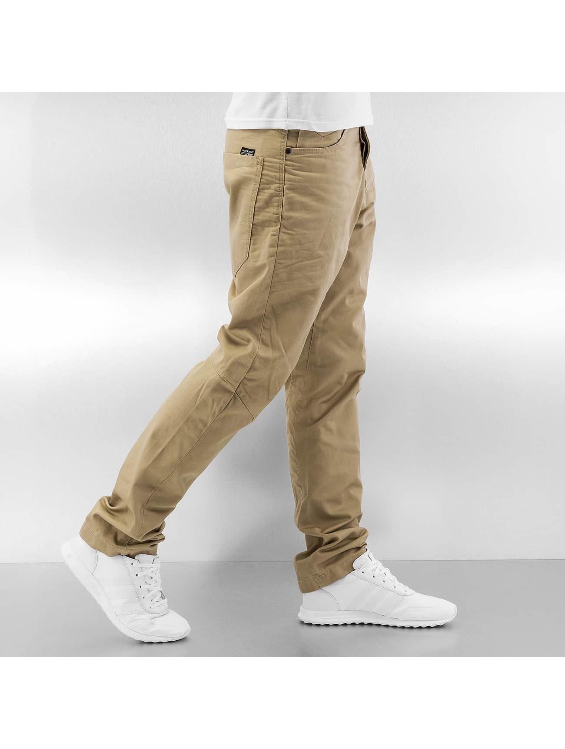 Jack & Jones Pantalon chino jjiStan jjiSac beige