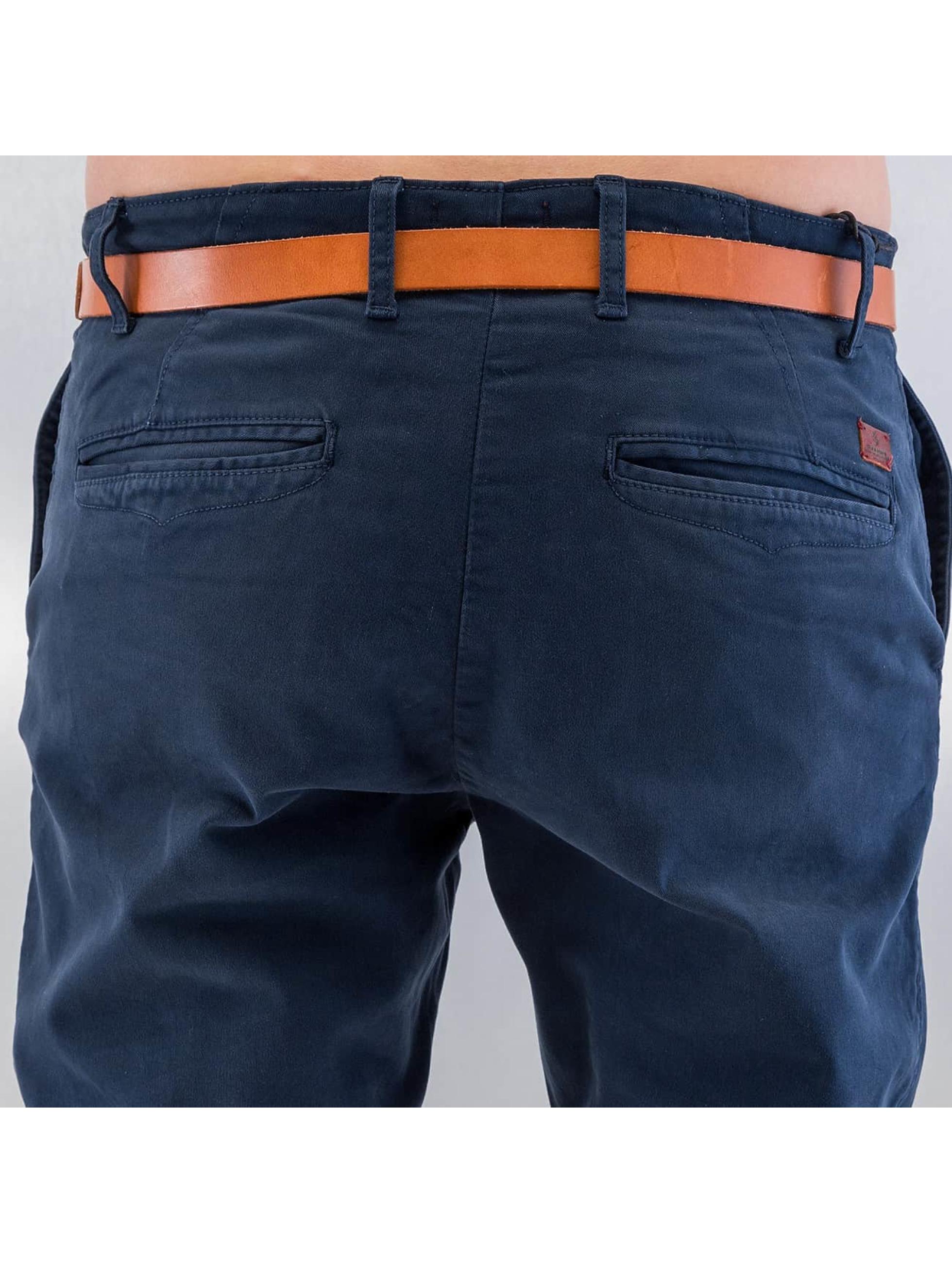 Jack & Jones Pantalon chino jjiCody jjLorenzo bleu