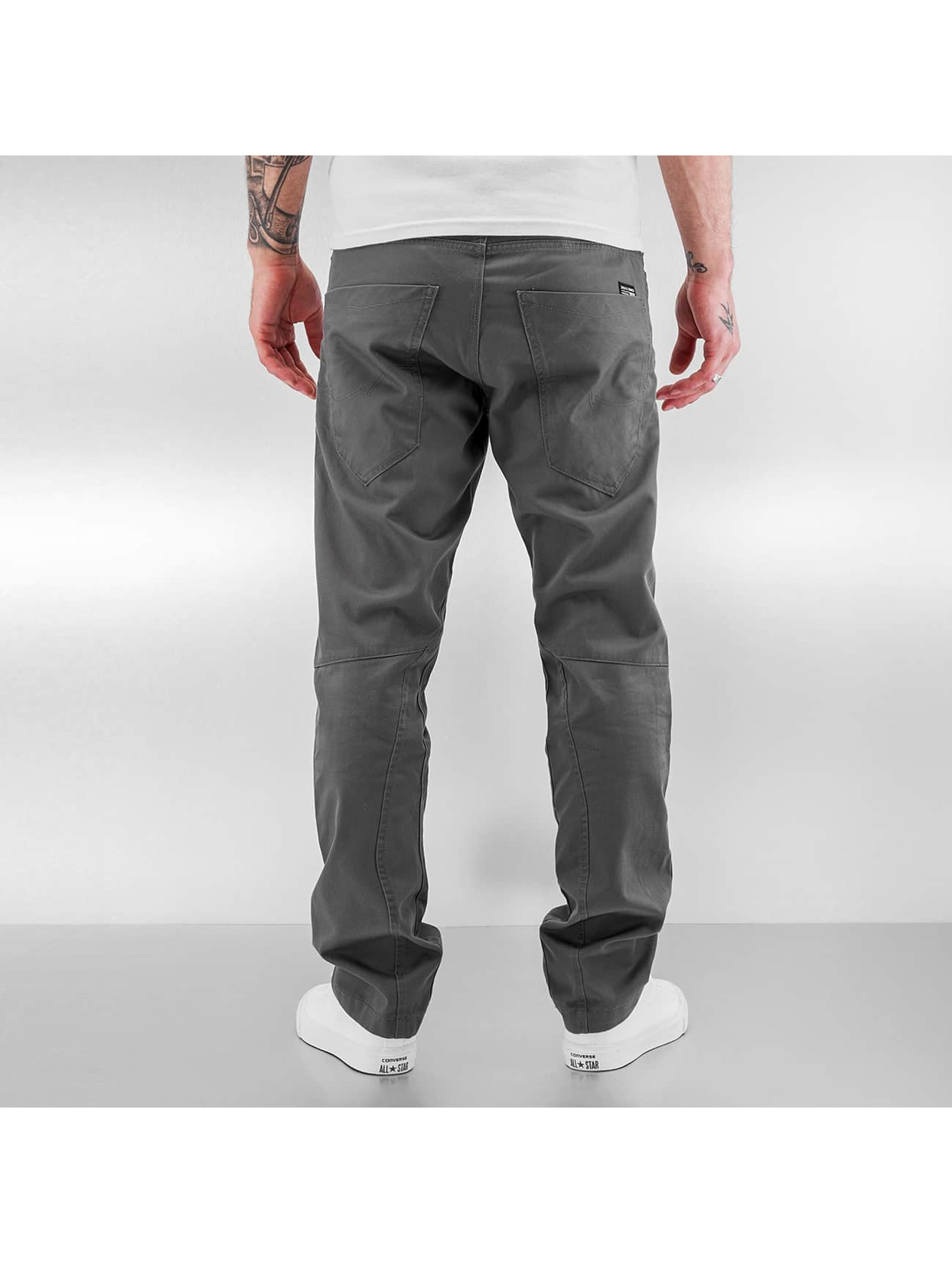Jack & Jones Pantalon chino jjiStan jjiSac gris