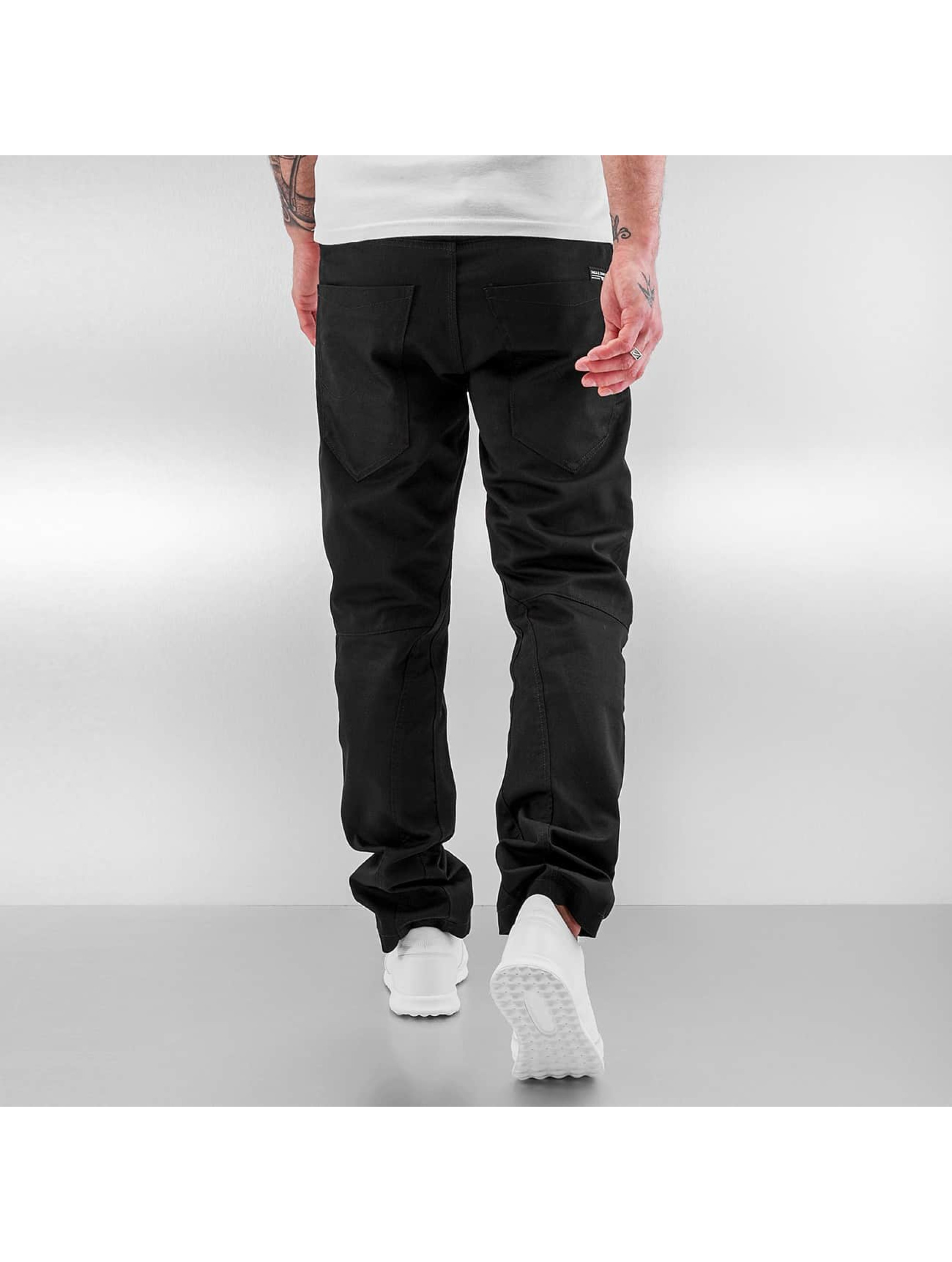 Jack & Jones Pantalon chino jjiStan jjiSac noir