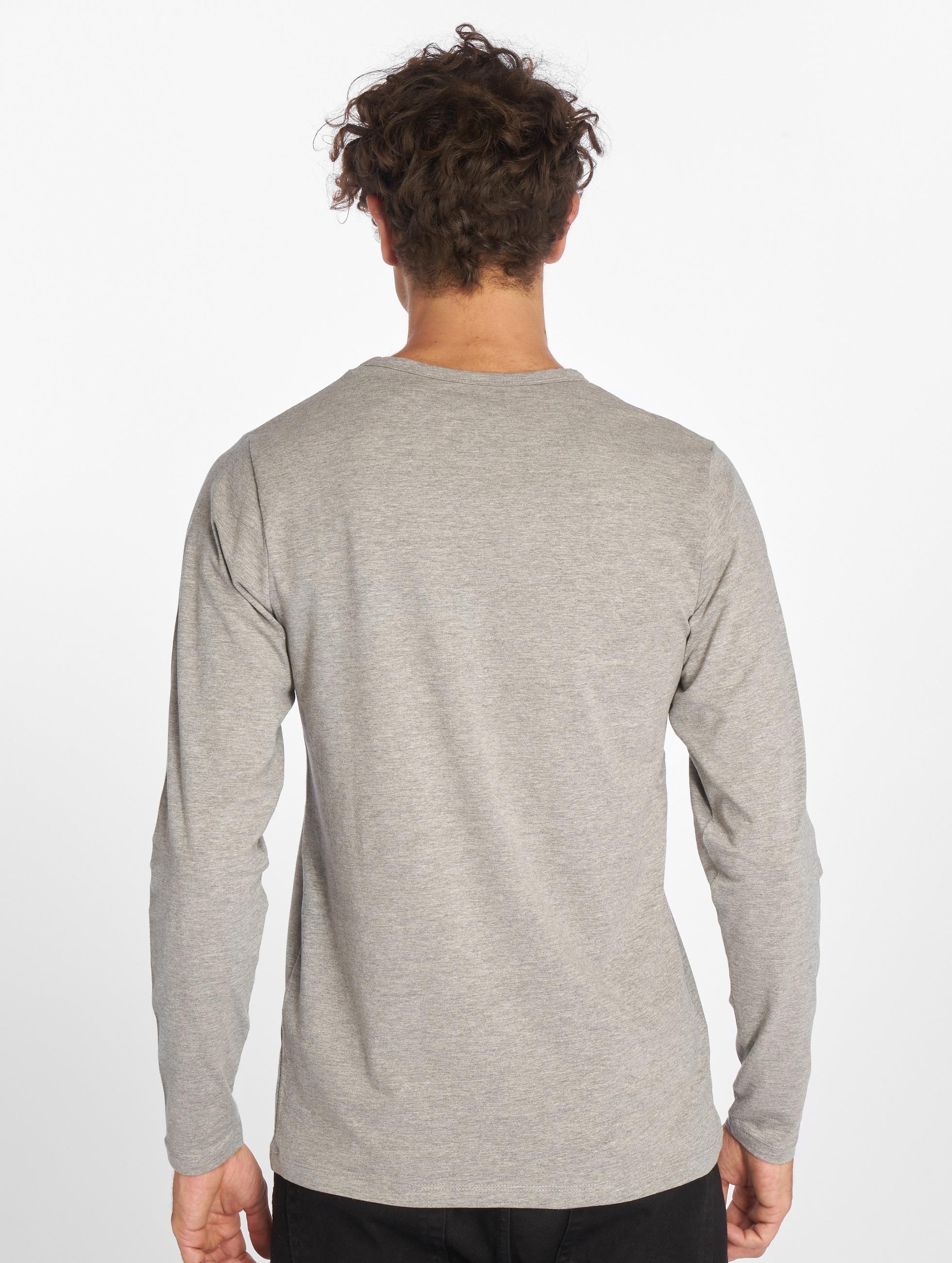 Jack & Jones Pitkähihaiset paidat Basic harmaa