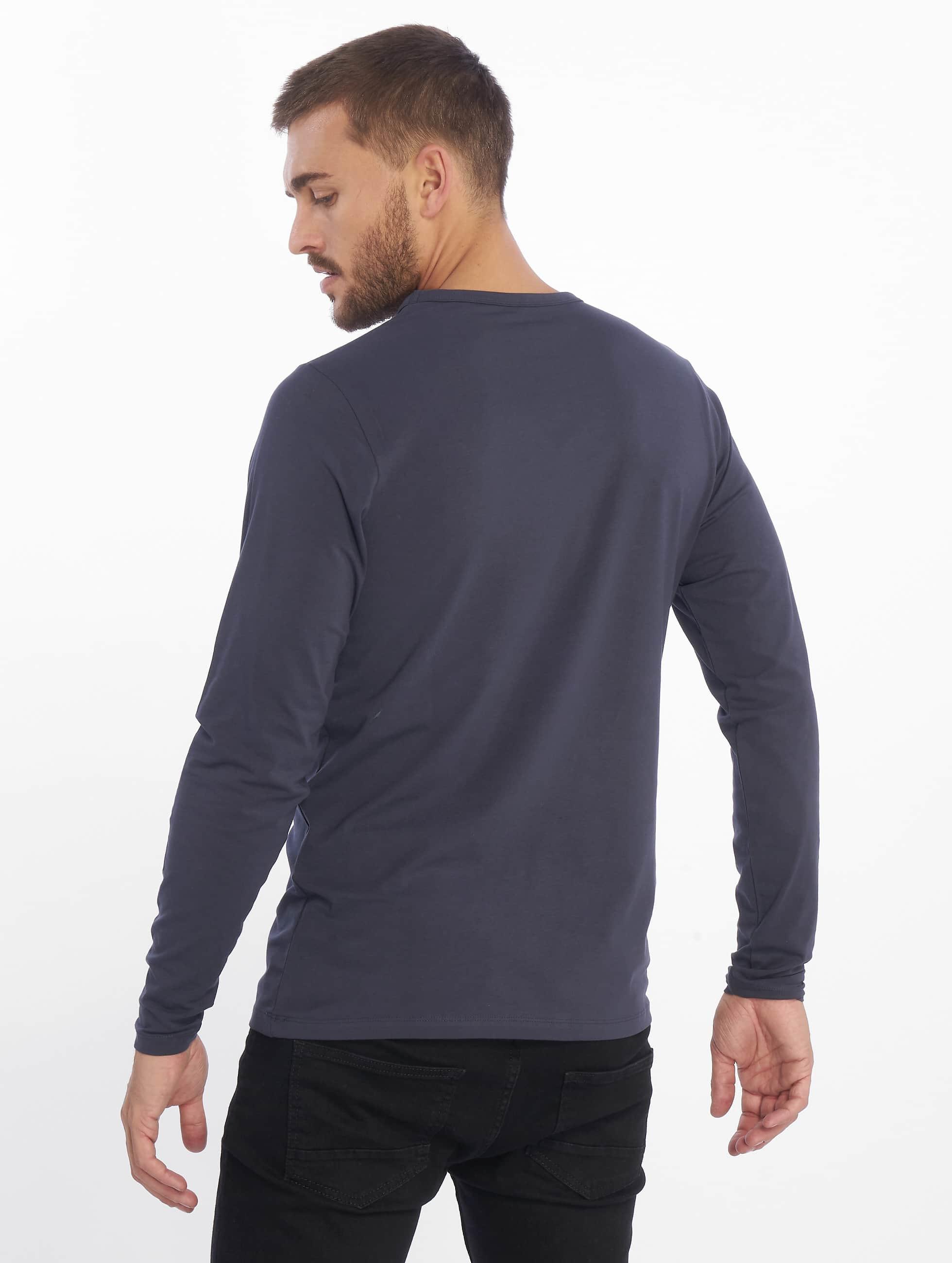 Jack & Jones Pitkähihaiset paidat Basic sininen