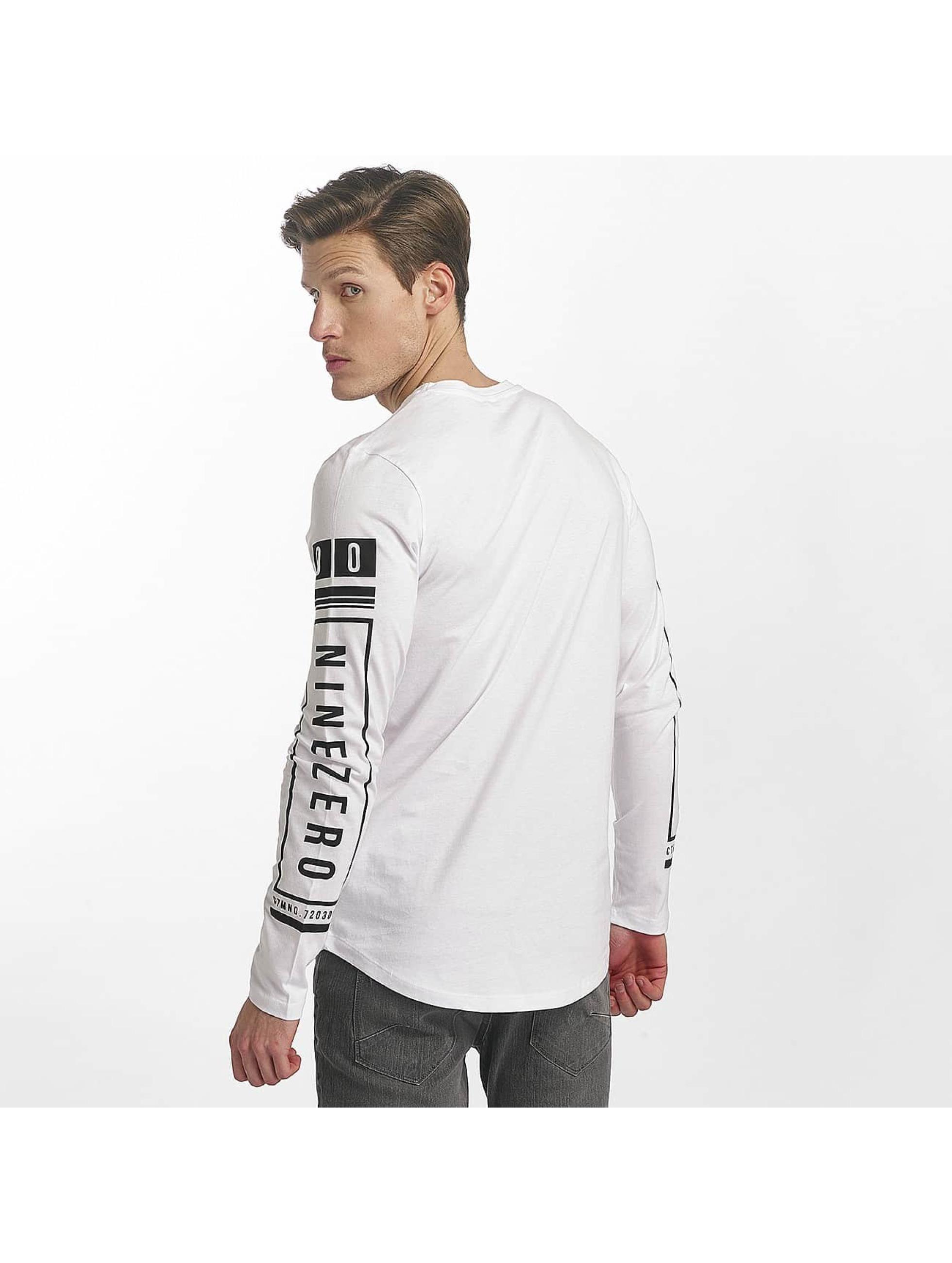 Jack & Jones Pitkähihaiset paidat jcoLoose valkoinen