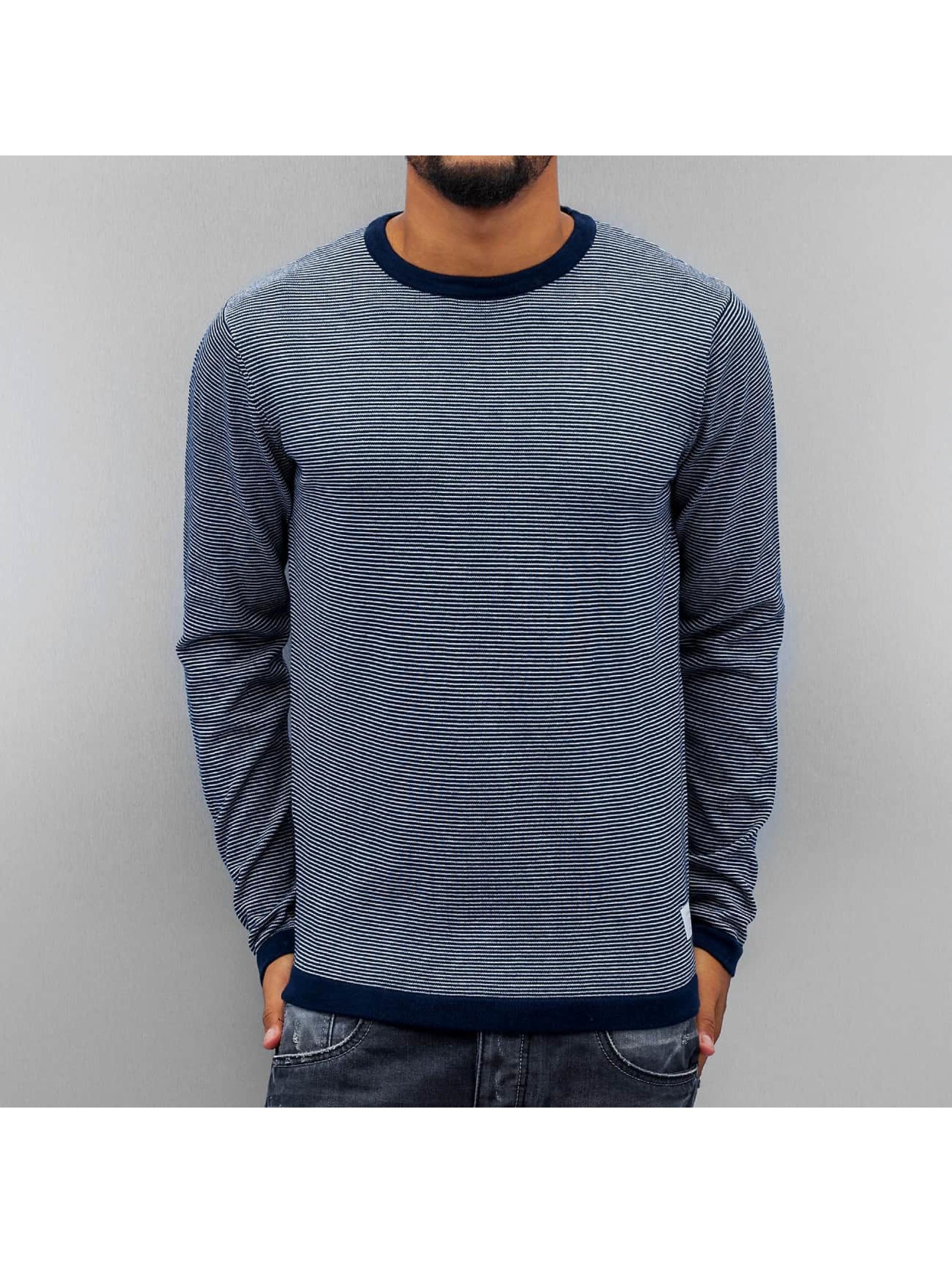 Jack & Jones Pullover jjcoChris Knit blau