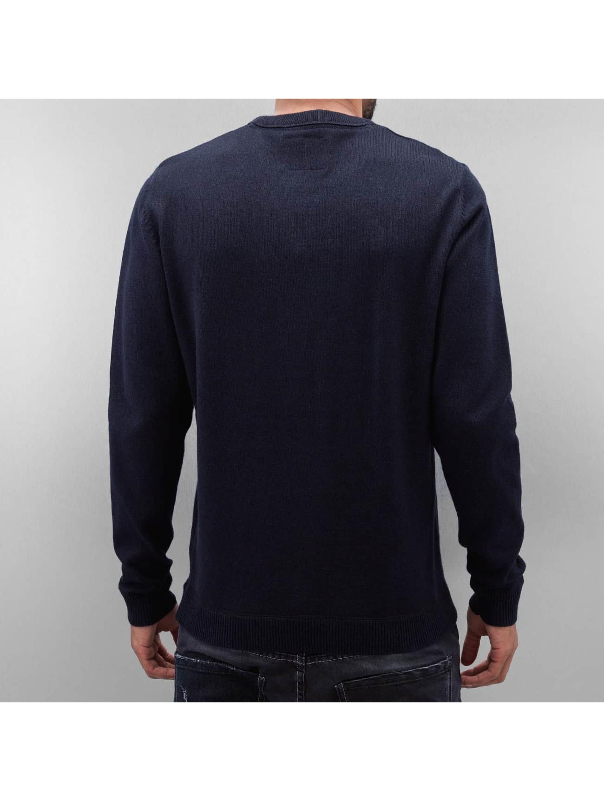 Jack & Jones Pullover jjcoTwisting blau