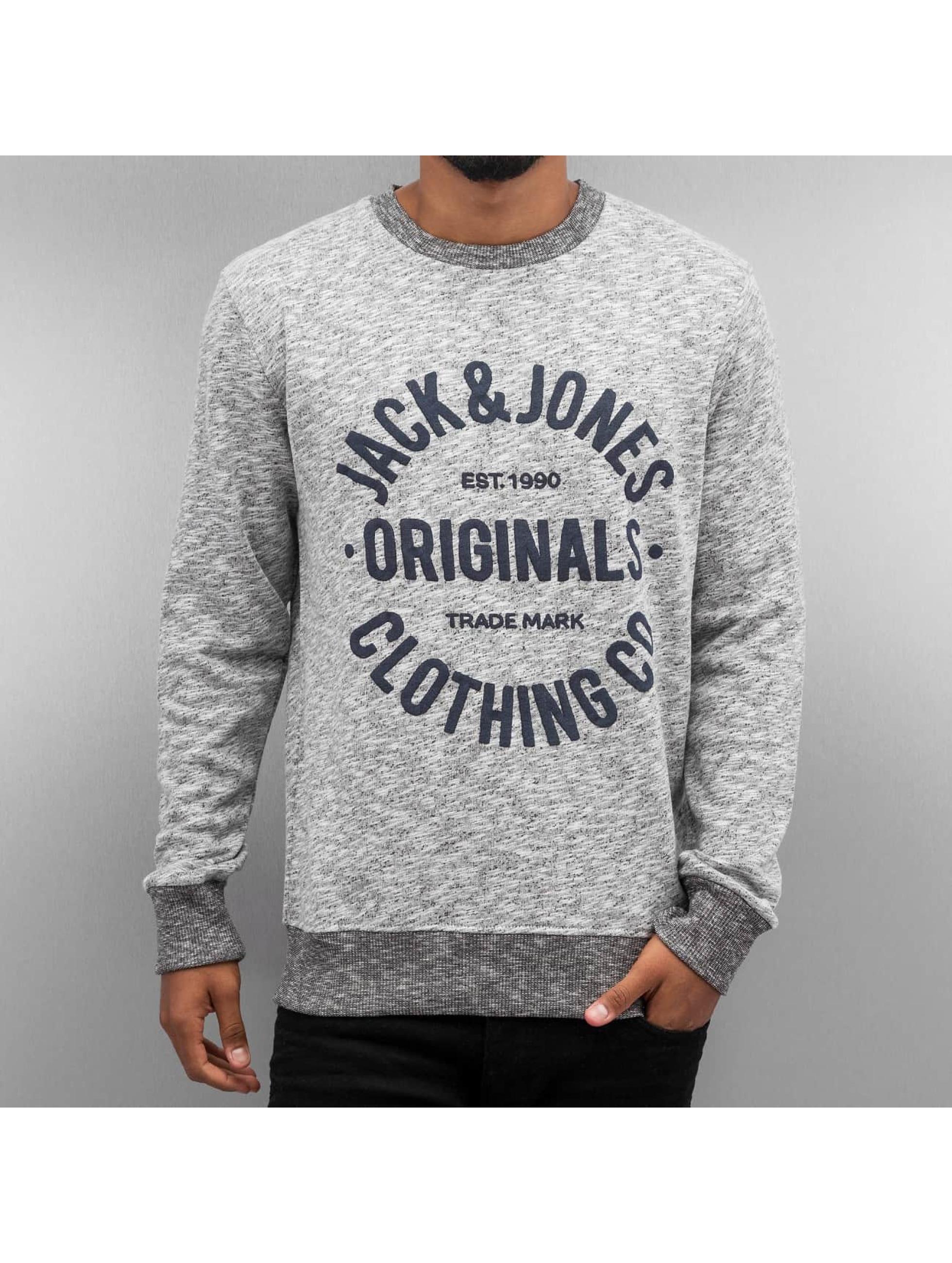 Jack & Jones Pullover jorClemens gray