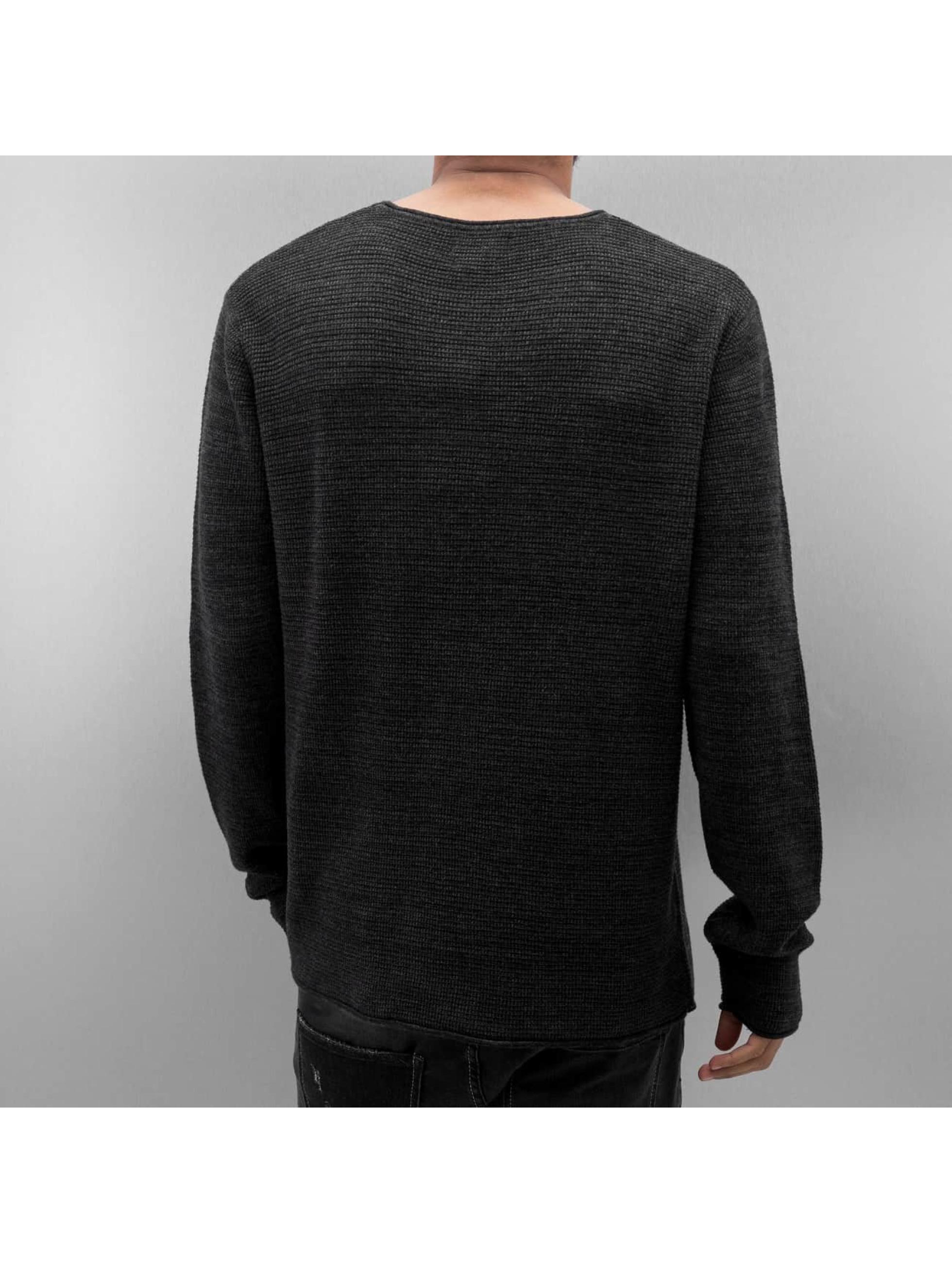Jack & Jones Pullover jjorAxel Knit schwarz