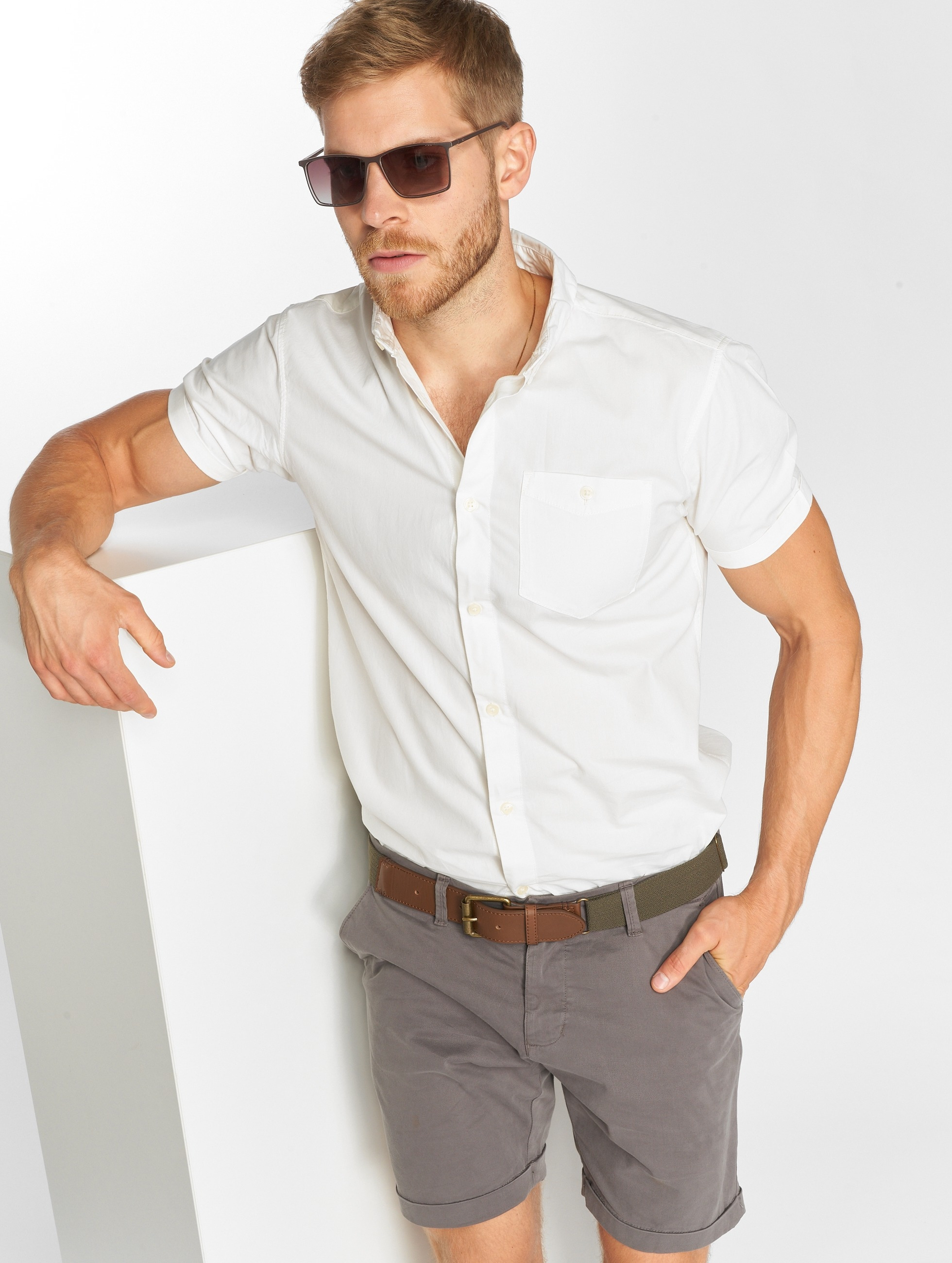 Jack & Jones Shirt jorNew Gavin white