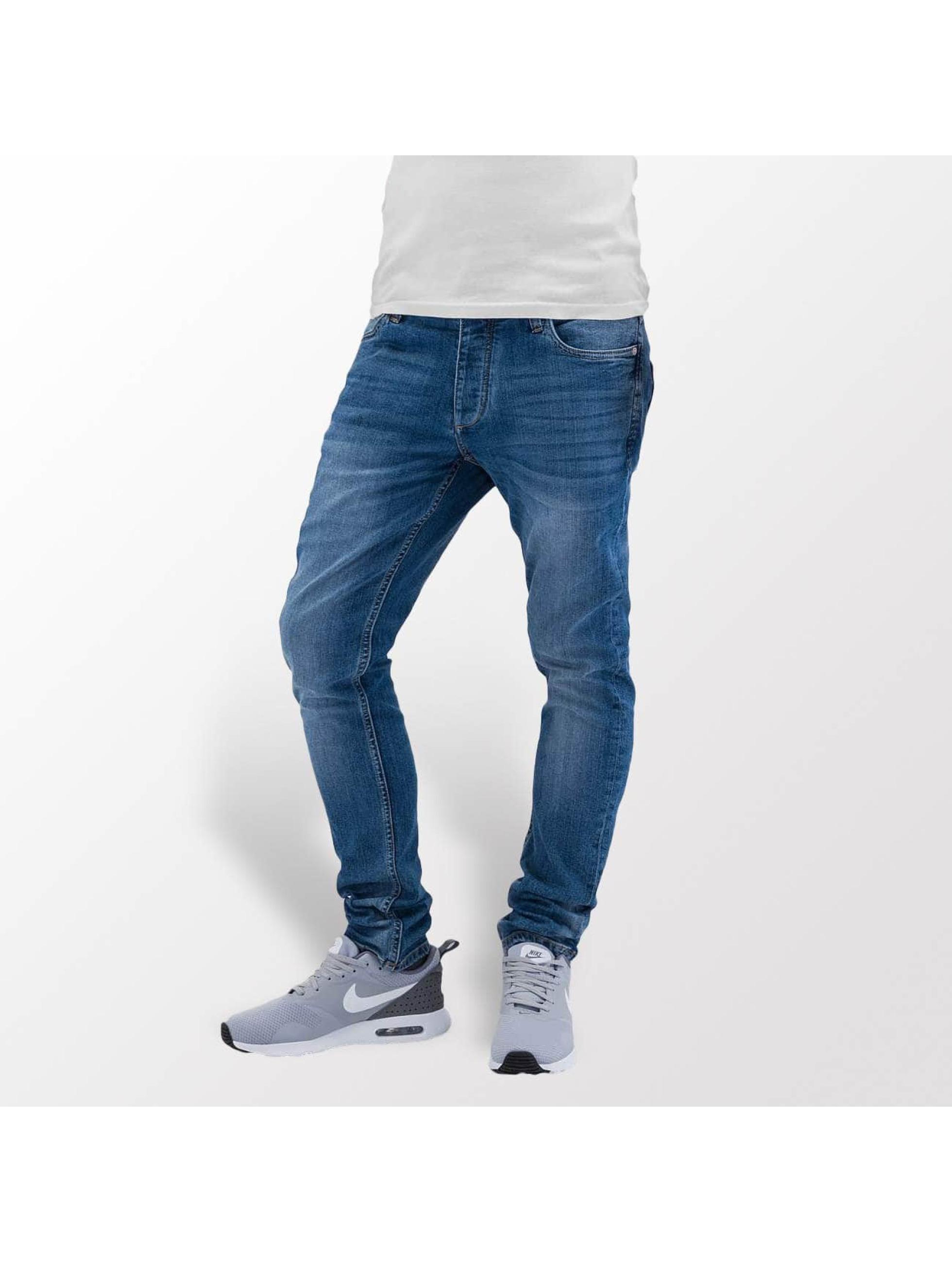 Jack & Jones Skinny Jeans jjiTim blau