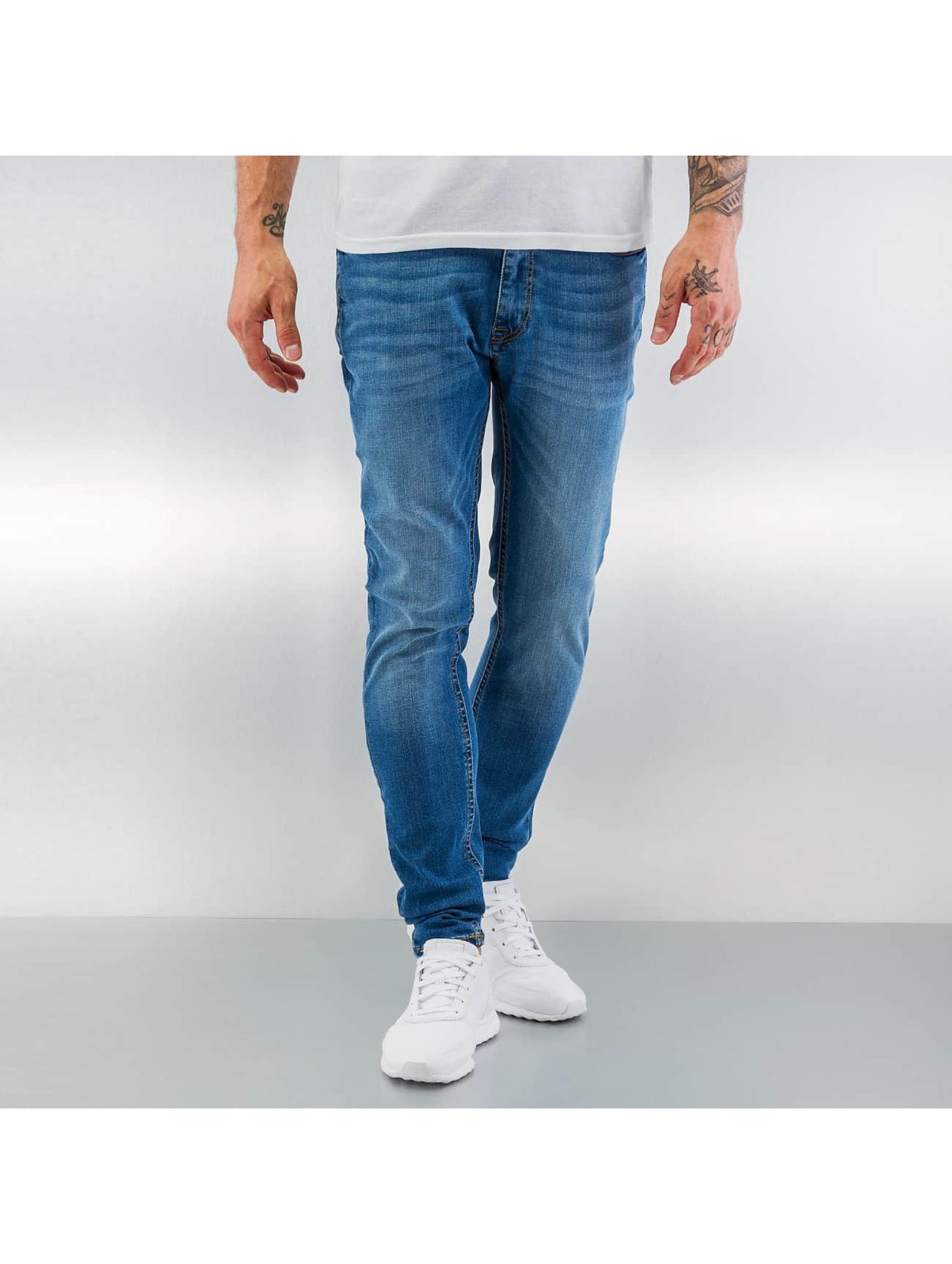 Jack & Jones Skinny Jeans jjiLiam jjOriginal blau