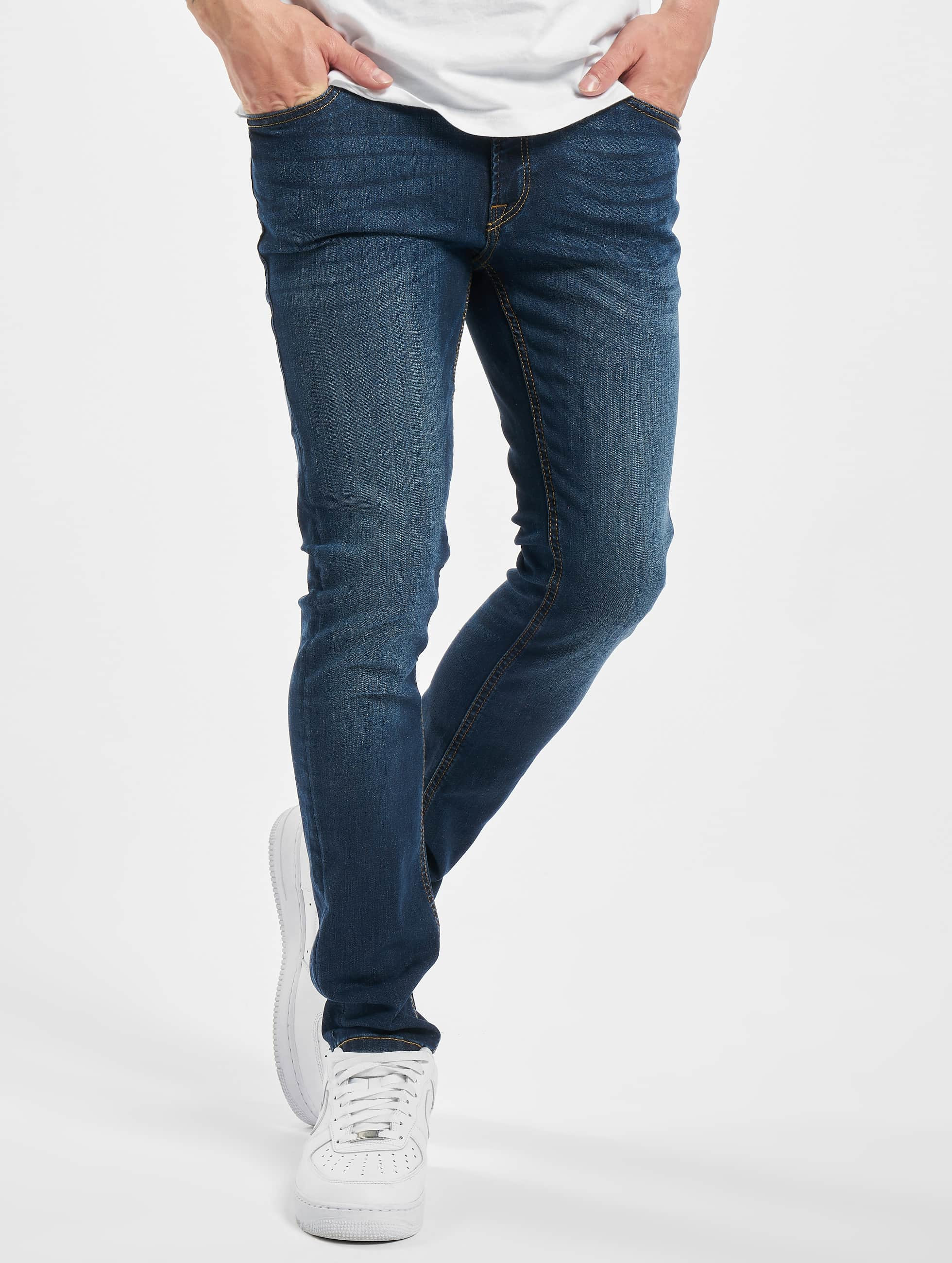Jack & Jones Skinny Jeans jjiLiam jjOriginal in blau