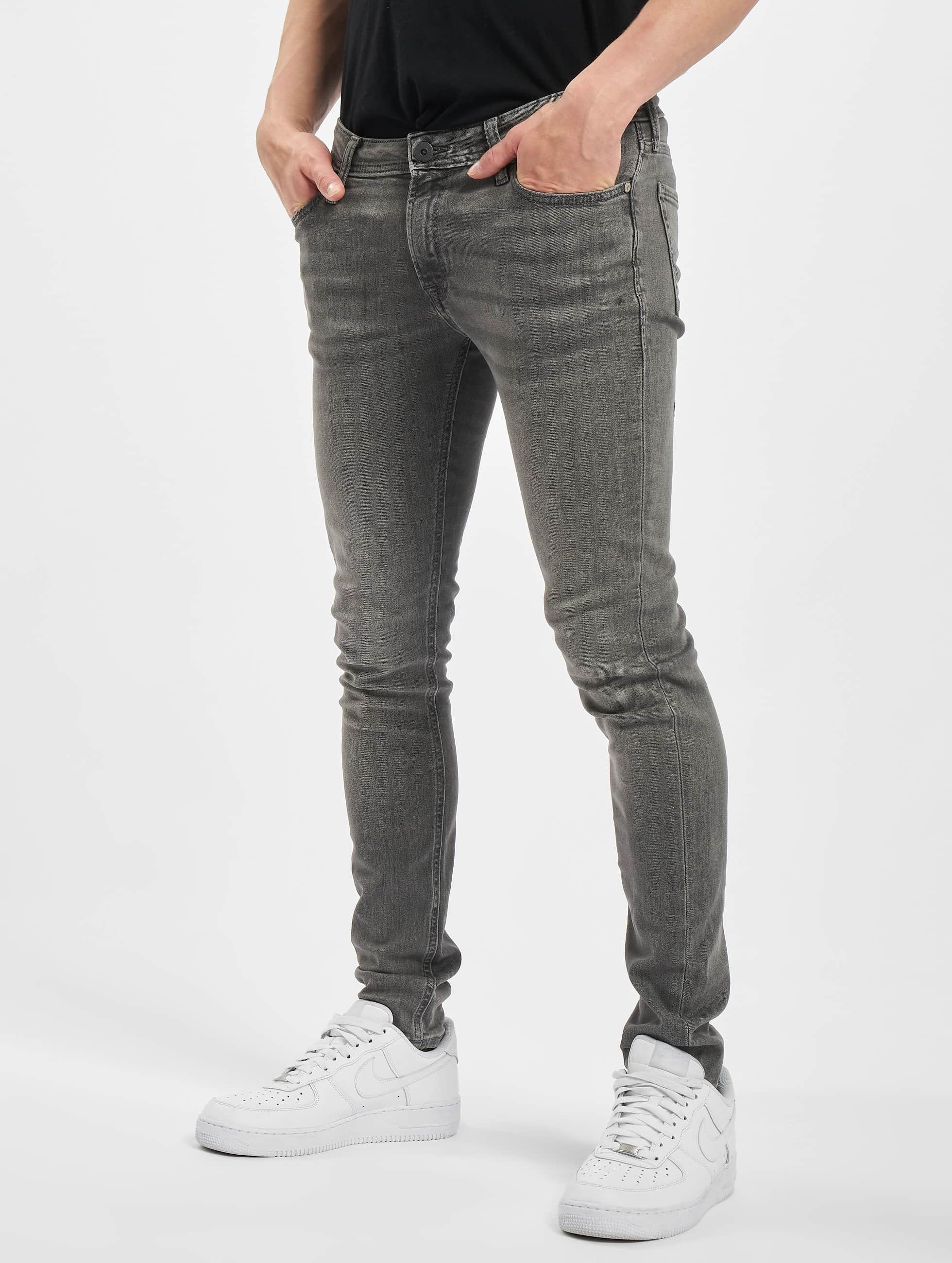 Jack & Jones Skinny jeans jjiLiam jjOriginal grijs