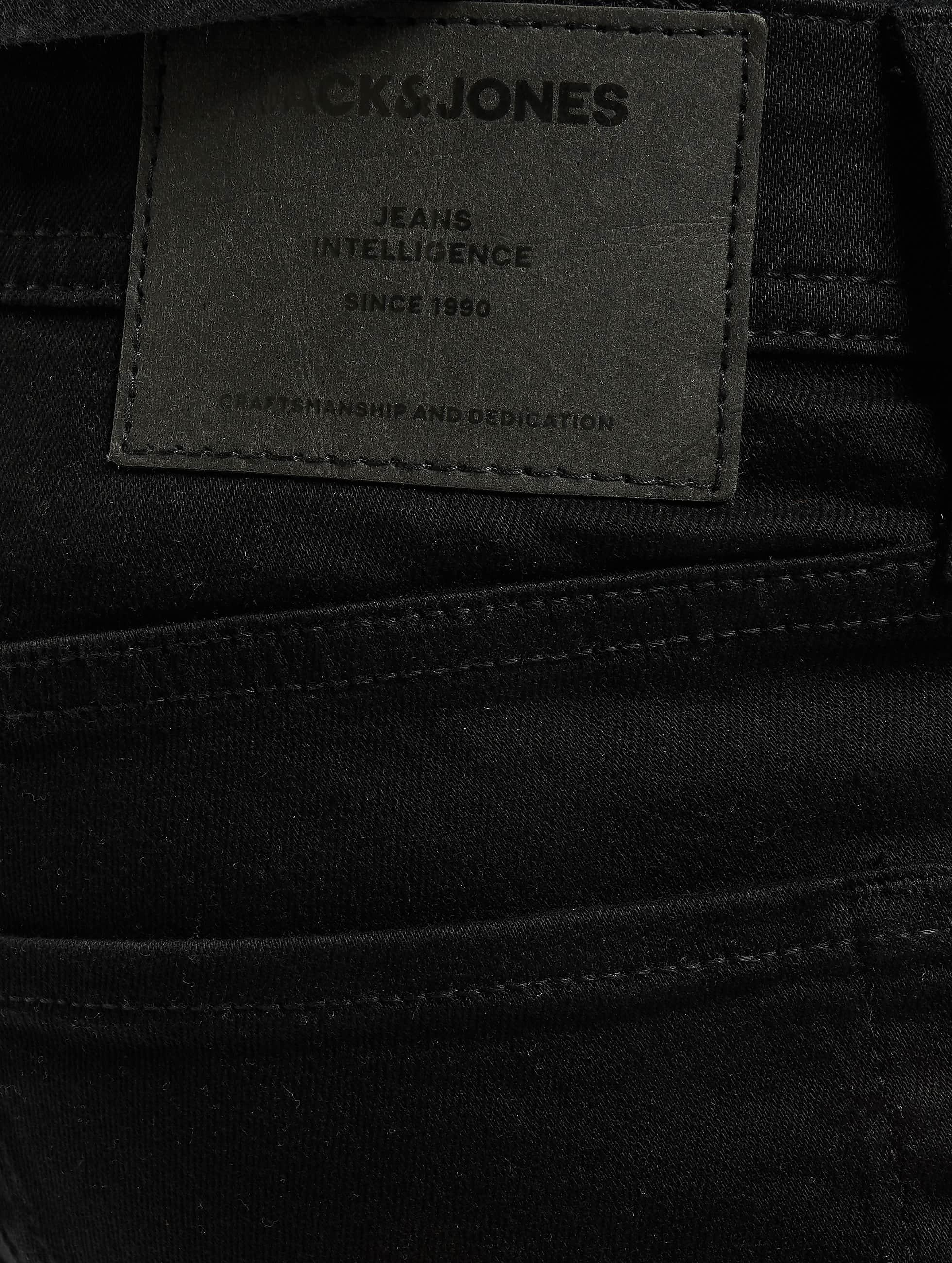 Jack & Jones Skinny jeans jjiLiam jjOriginal zwart
