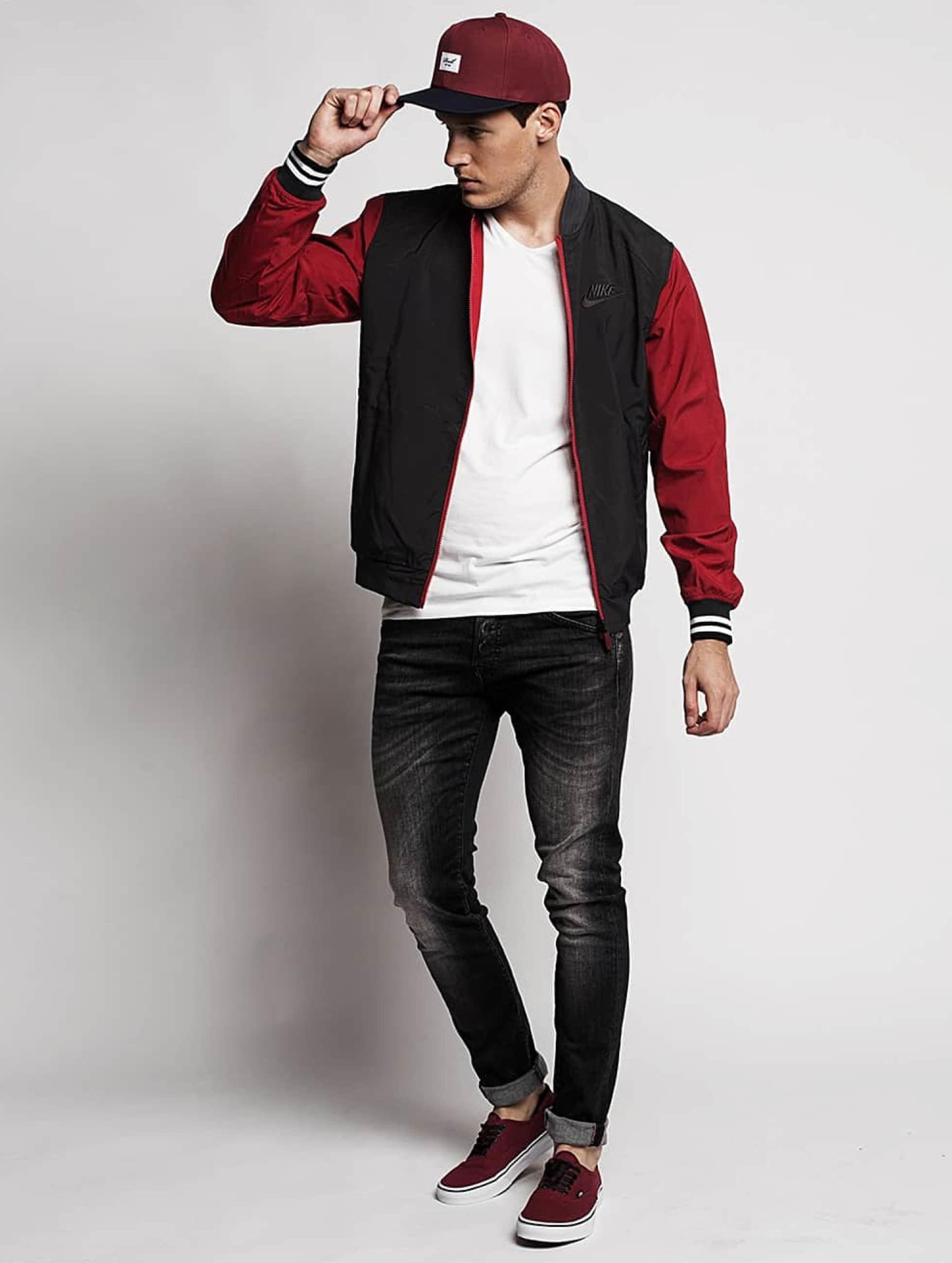 Jack & Jones Skinny jeans jjIglenn jjFox zwart