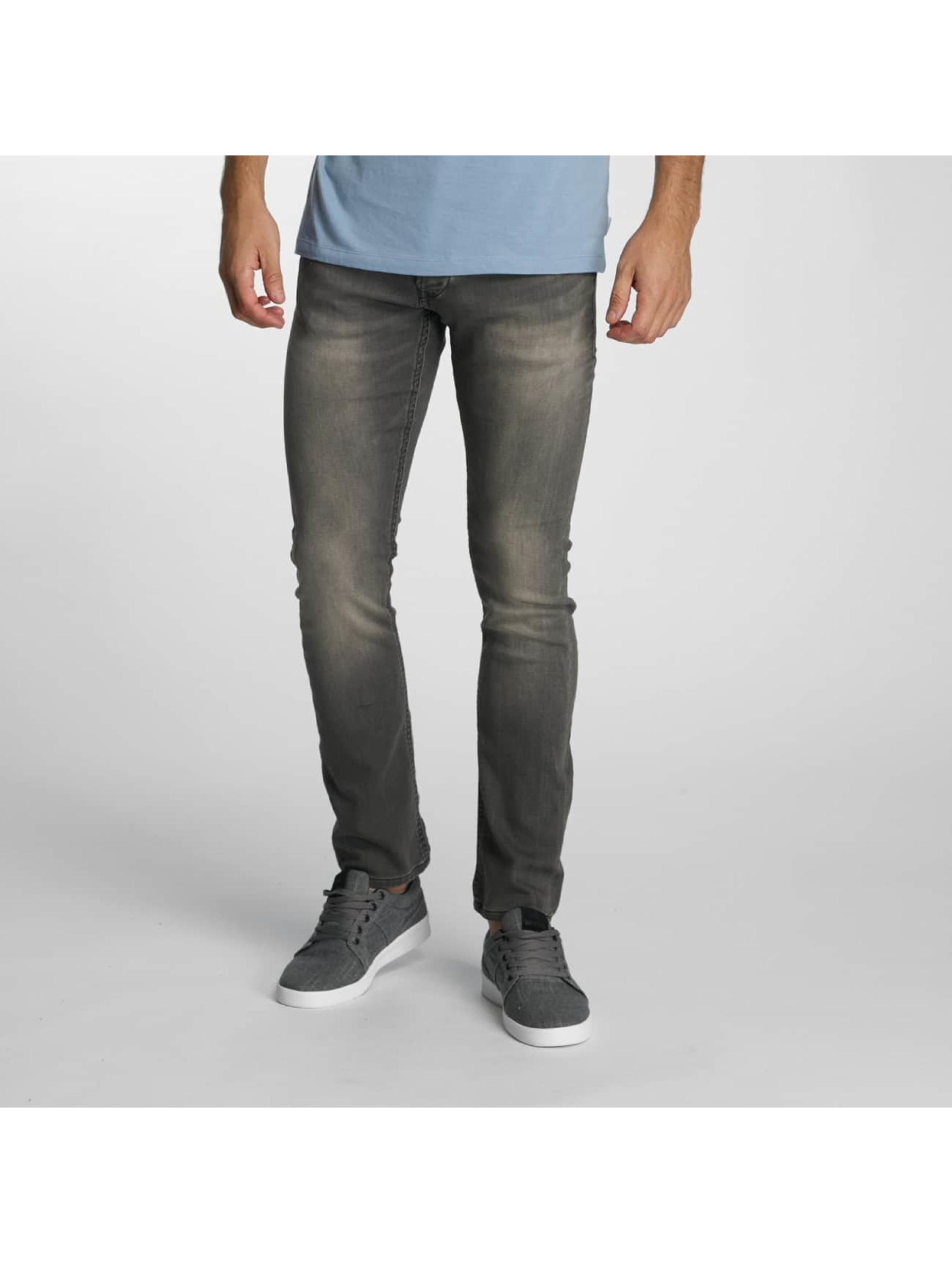 Jack & Jones Slim Fit Jeans jjiGlenn jjDash šedá