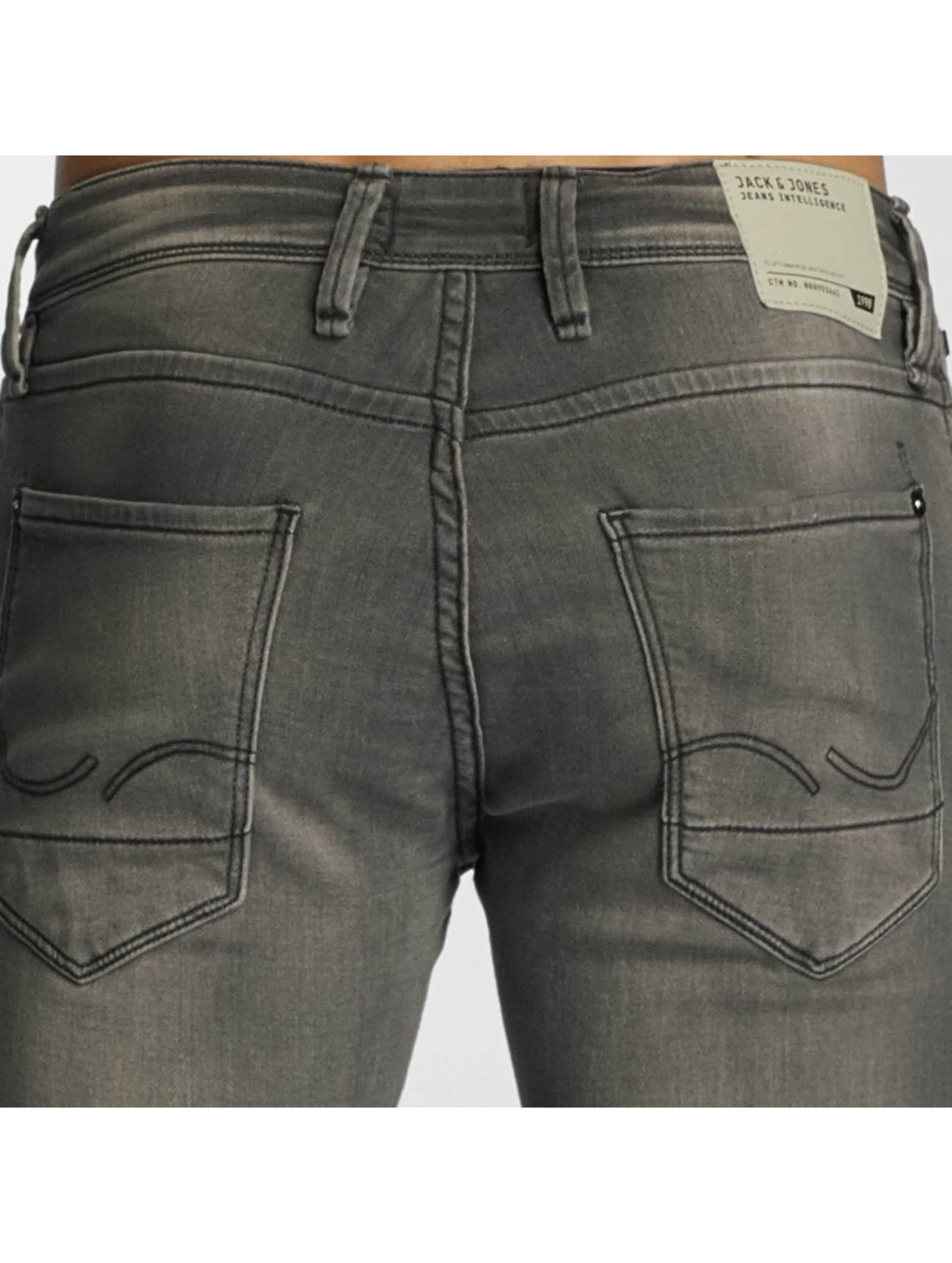 Jack & Jones Slim Fit Jeans jjiGlenn jjDash šedá