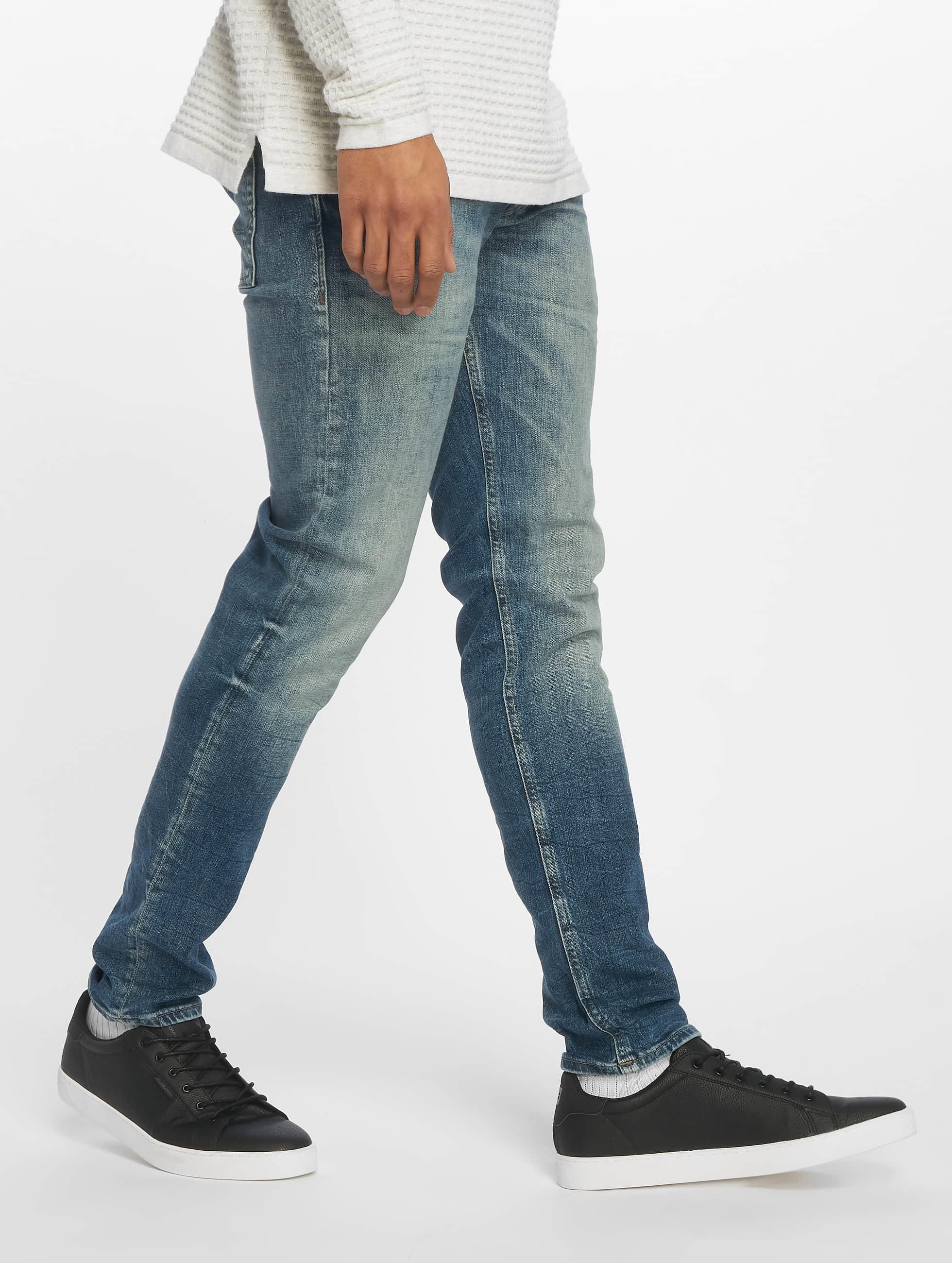 Jack & Jones Slim Fit Jeans Originals Glenn синий