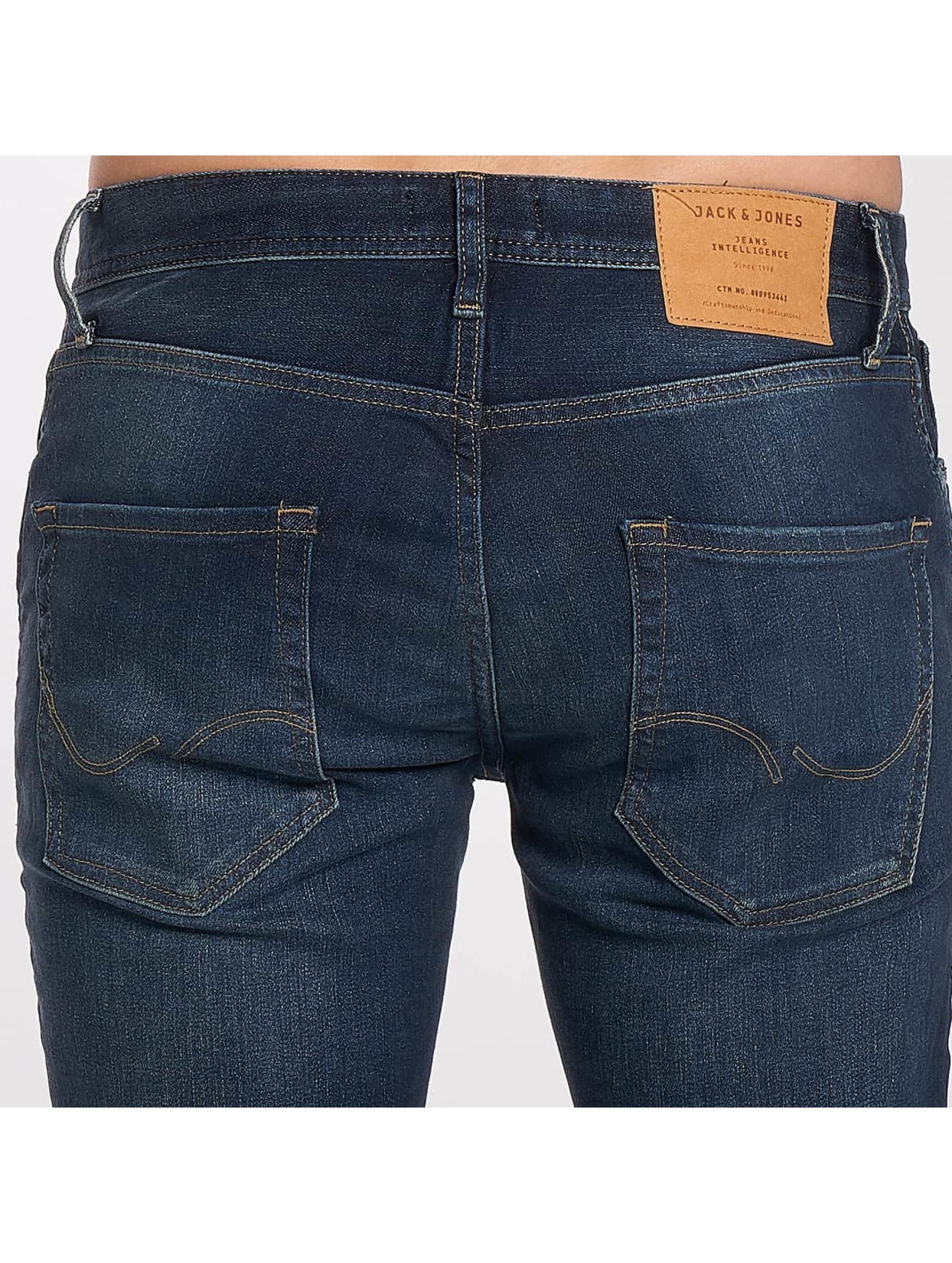Jack & Jones Slim Fit Jeans jjTIM синий