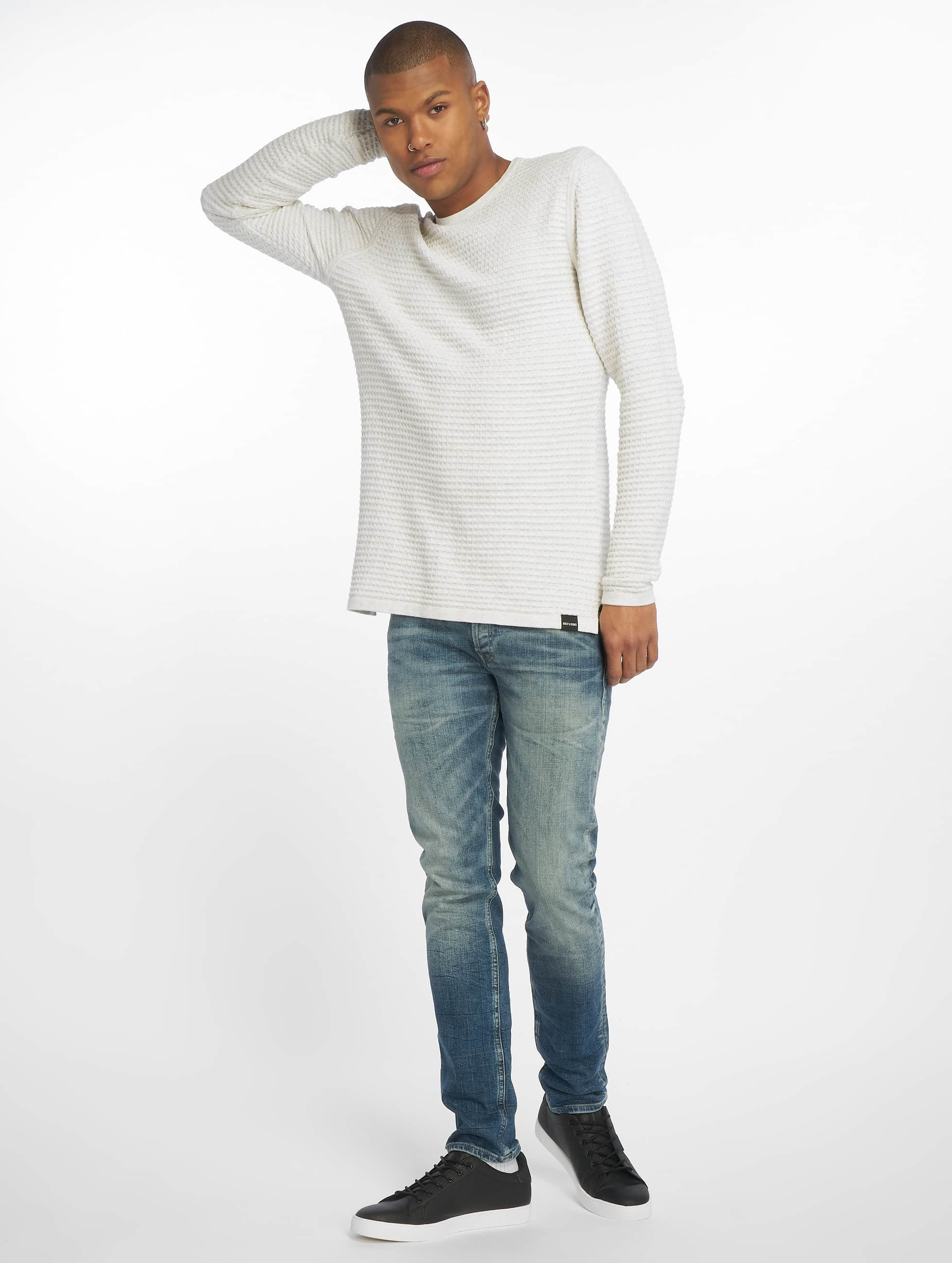 Jack & Jones Slim Fit Jeans Originals Glenn blauw