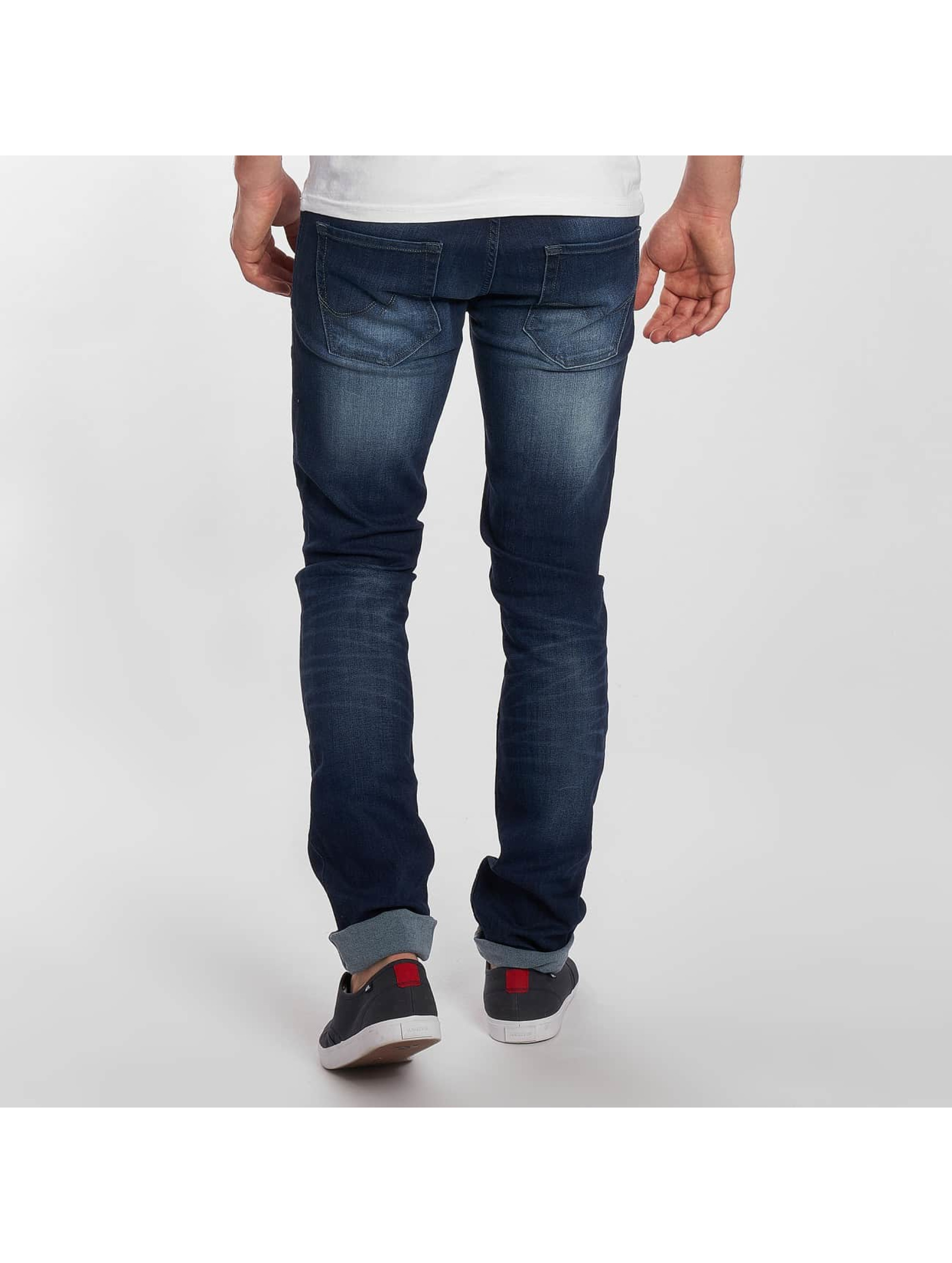 Jack & Jones Slim Fit Jeans jjiTim jjOriginal blauw