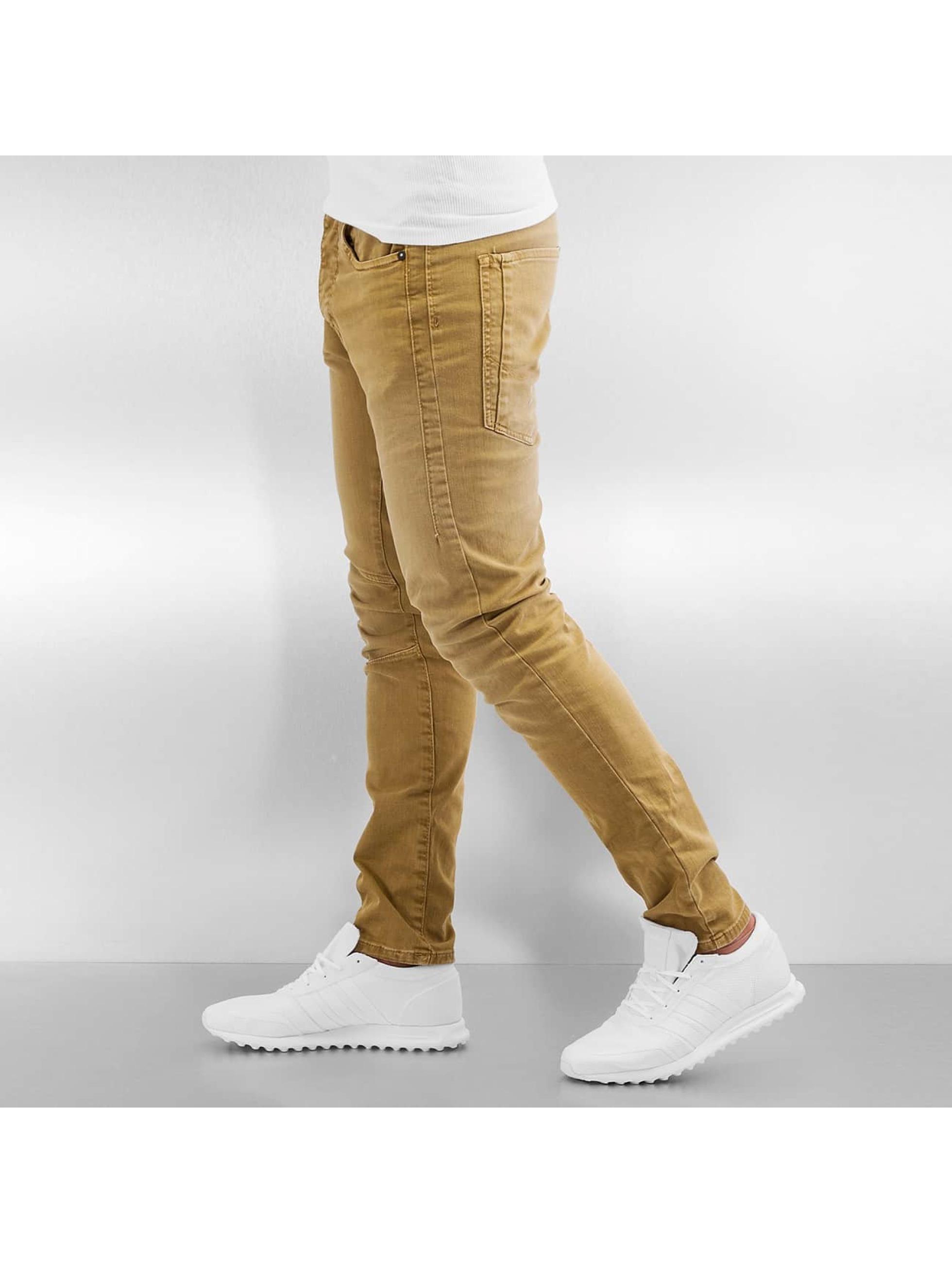 Jack & Jones Slim Fit Jeans jjIluke jjEcho JOS 999 bruin